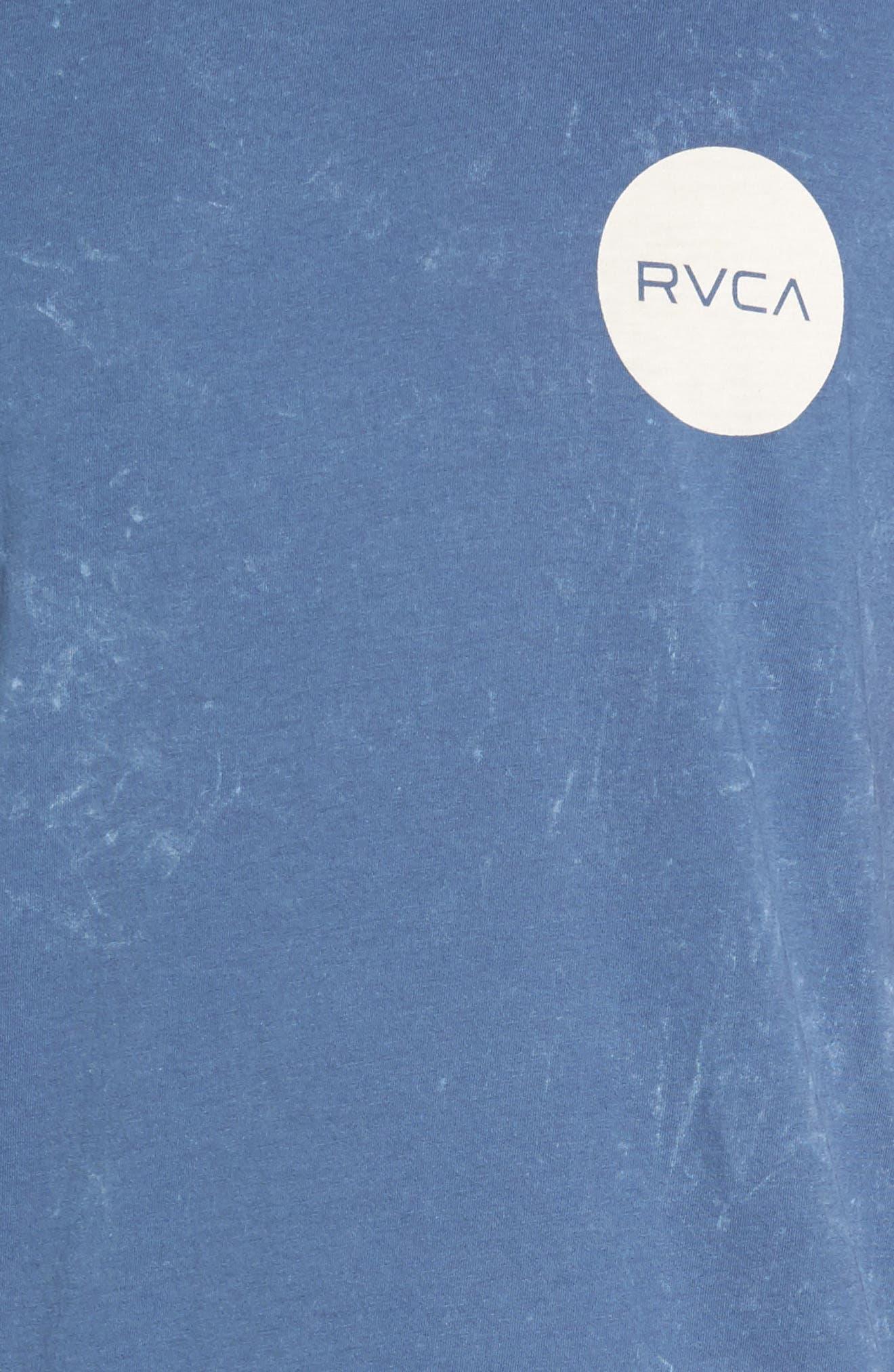 Motors Logo Graphic T-Shirt,                             Alternate thumbnail 5, color,                             Dark Denim