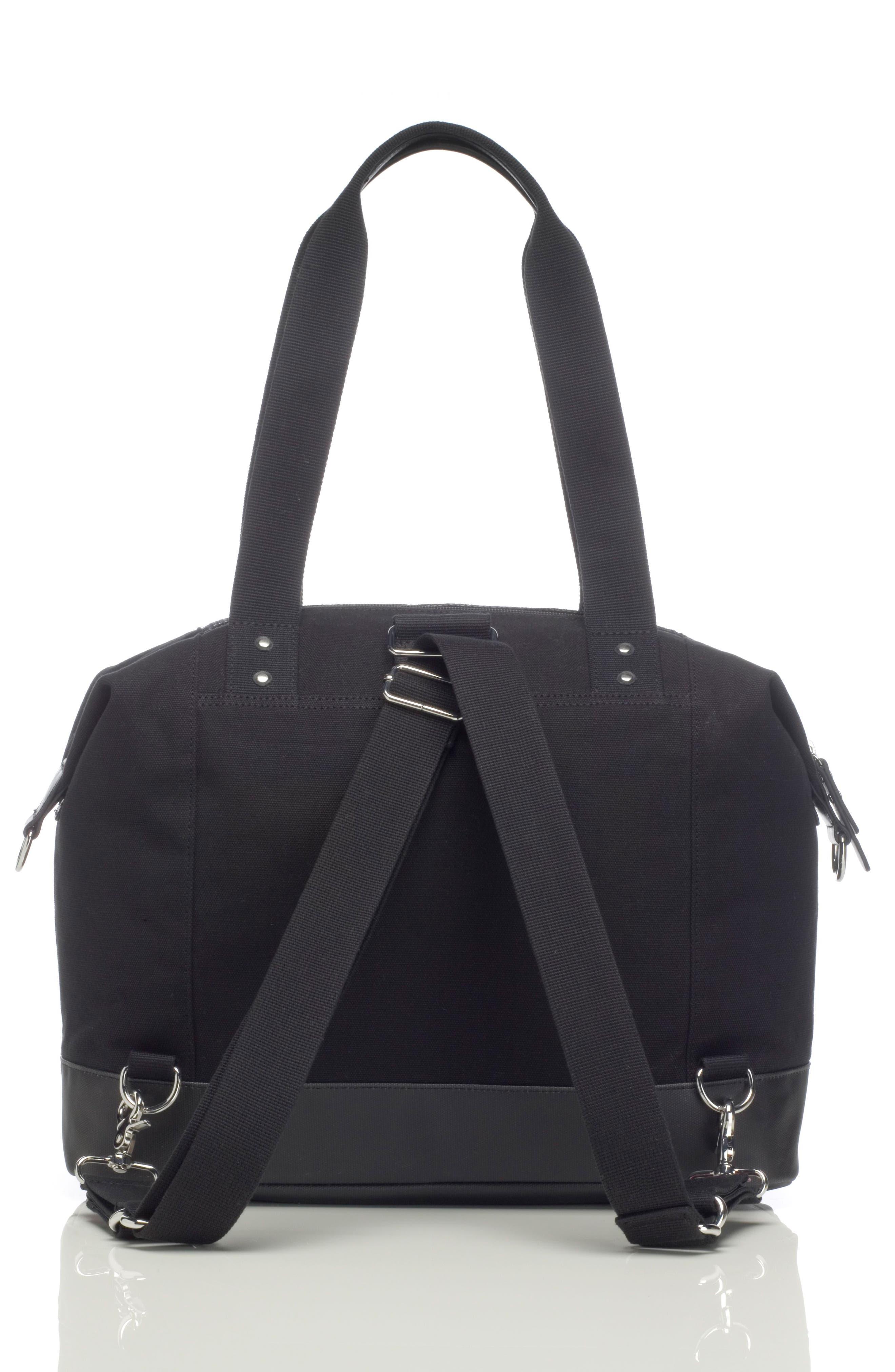 Alternate Image 4  - Storksak Jude Convertible Diaper Bag