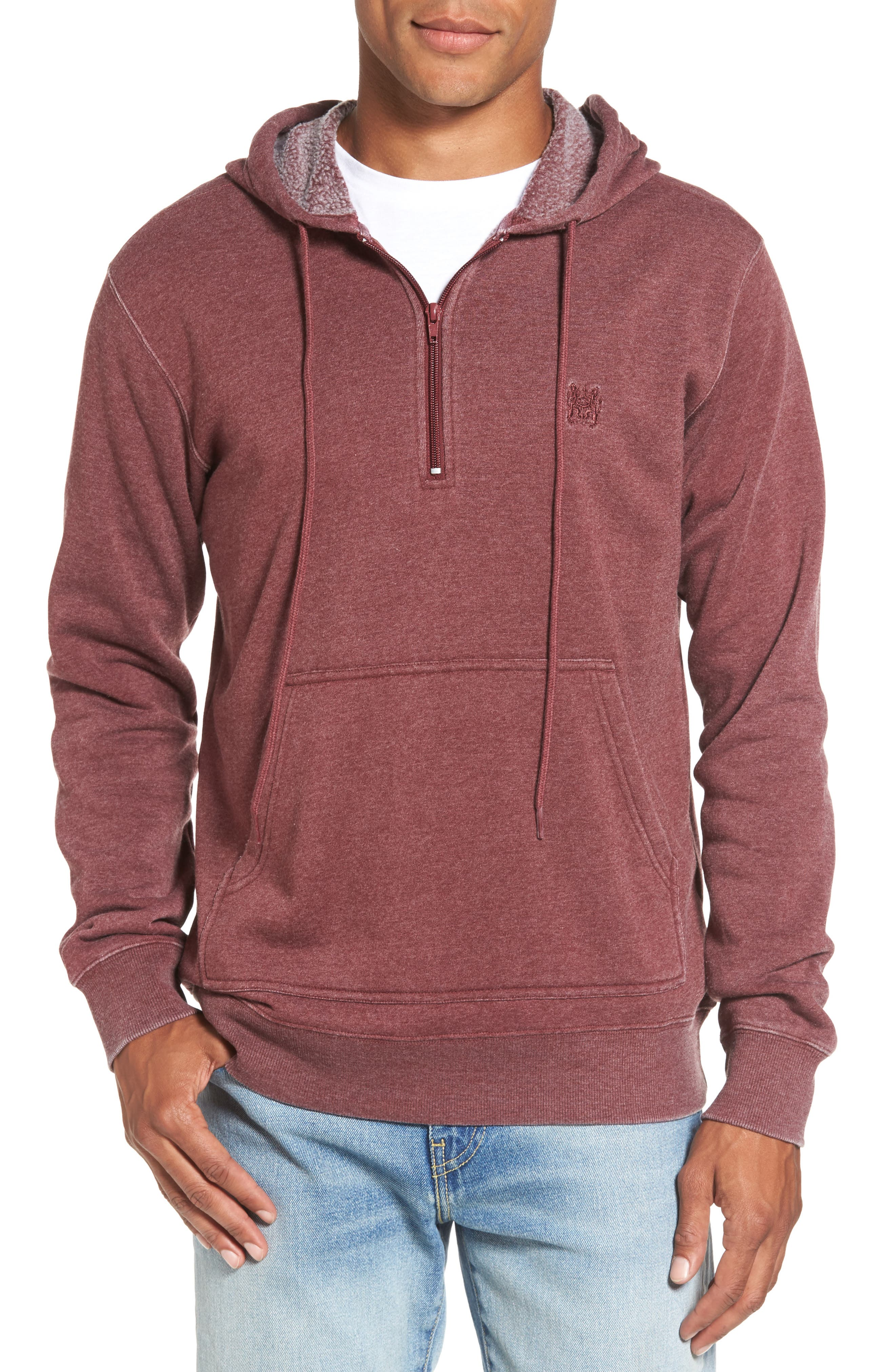 Sunwash Hoodie,                         Main,                         color, Tawny Port
