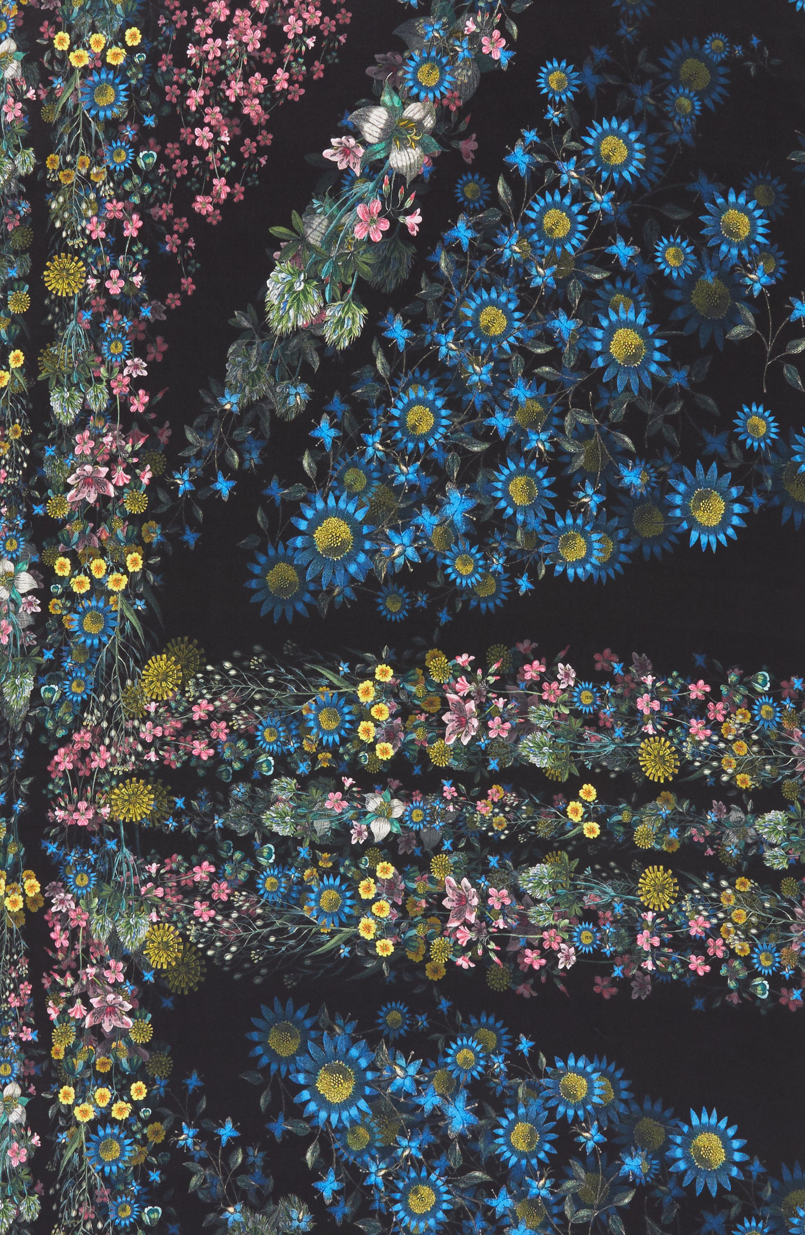 Alternate Image 4  - Ted Baker London Unity Floral Silk Scarf