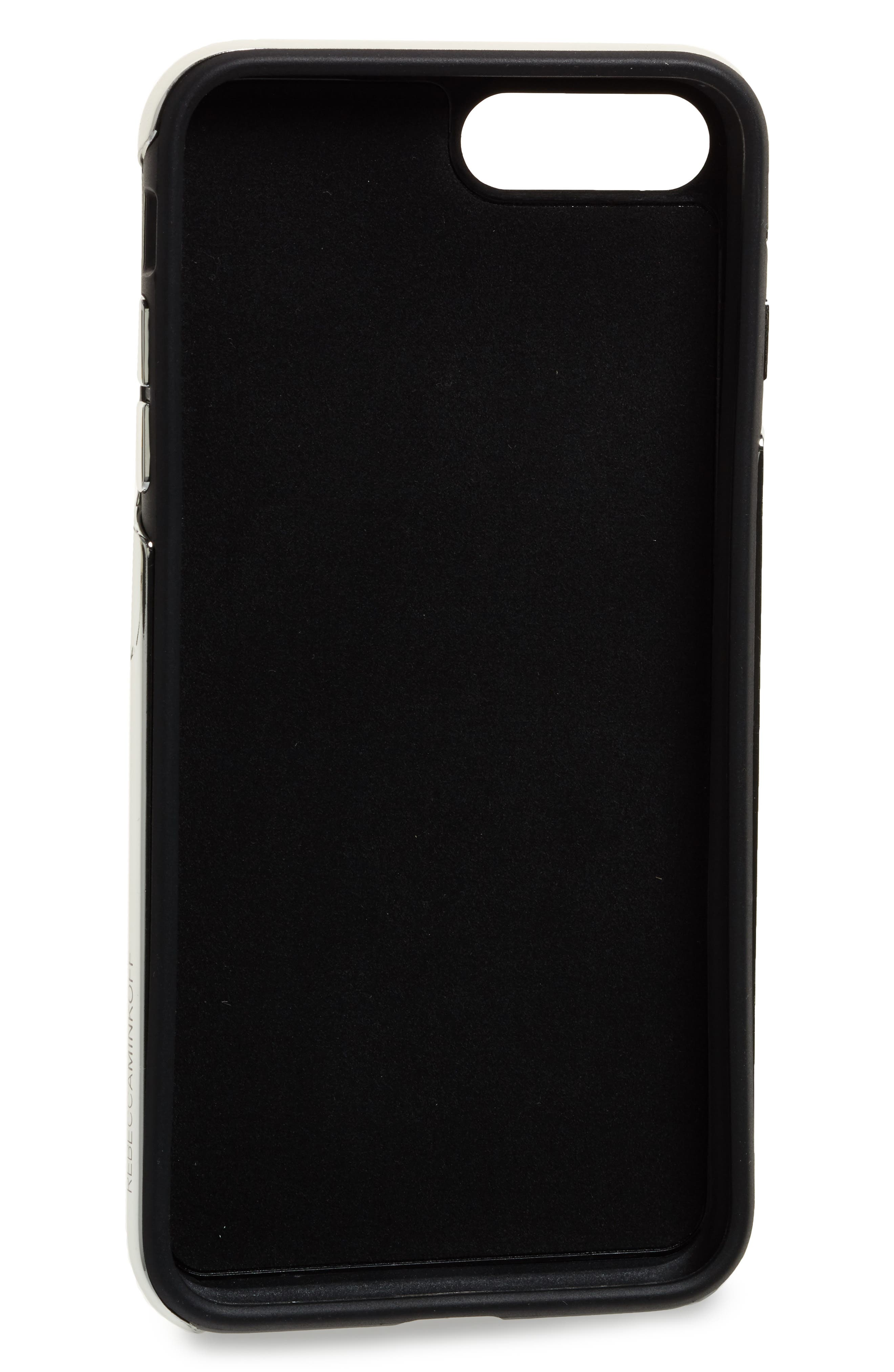 Alternate Image 2  - Rebecca Minkoff Luxe Double Up iPhone 7/8 Plus Case