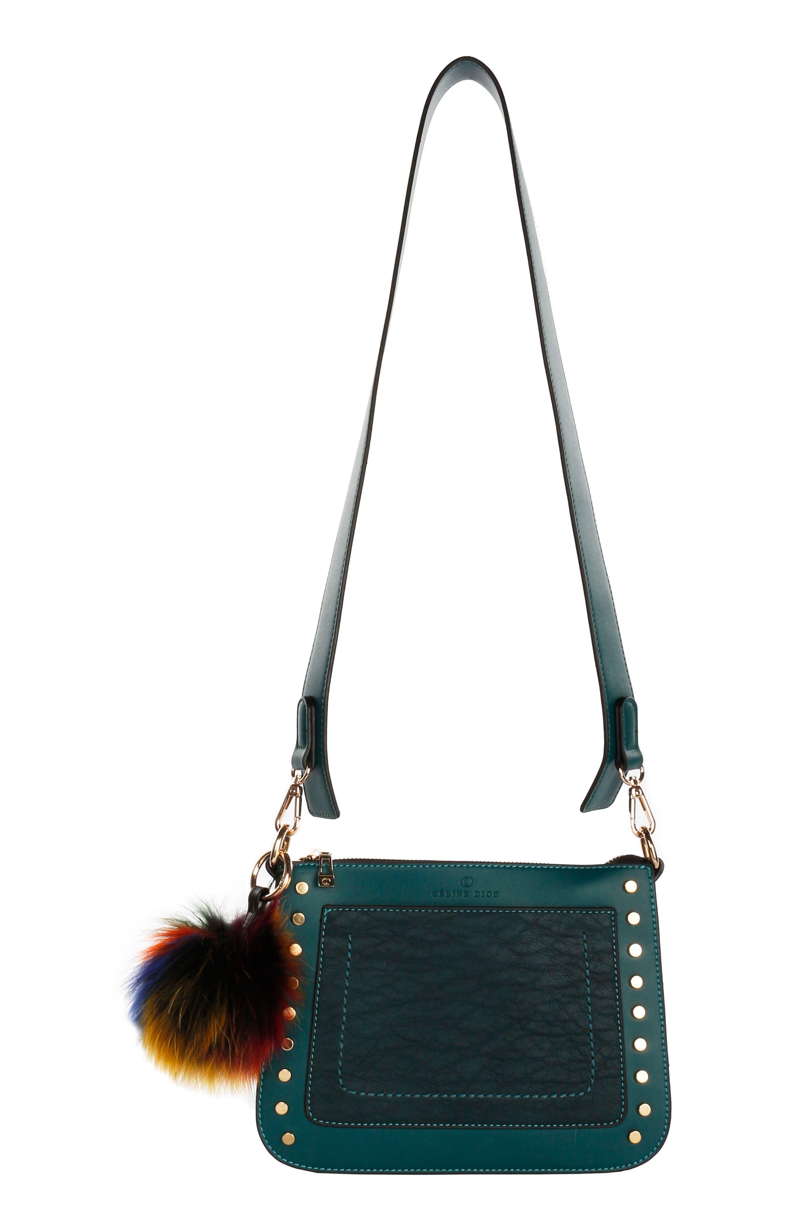CELINE DION Céline Dion Pizzicato Faux Leather Crossbody Bag