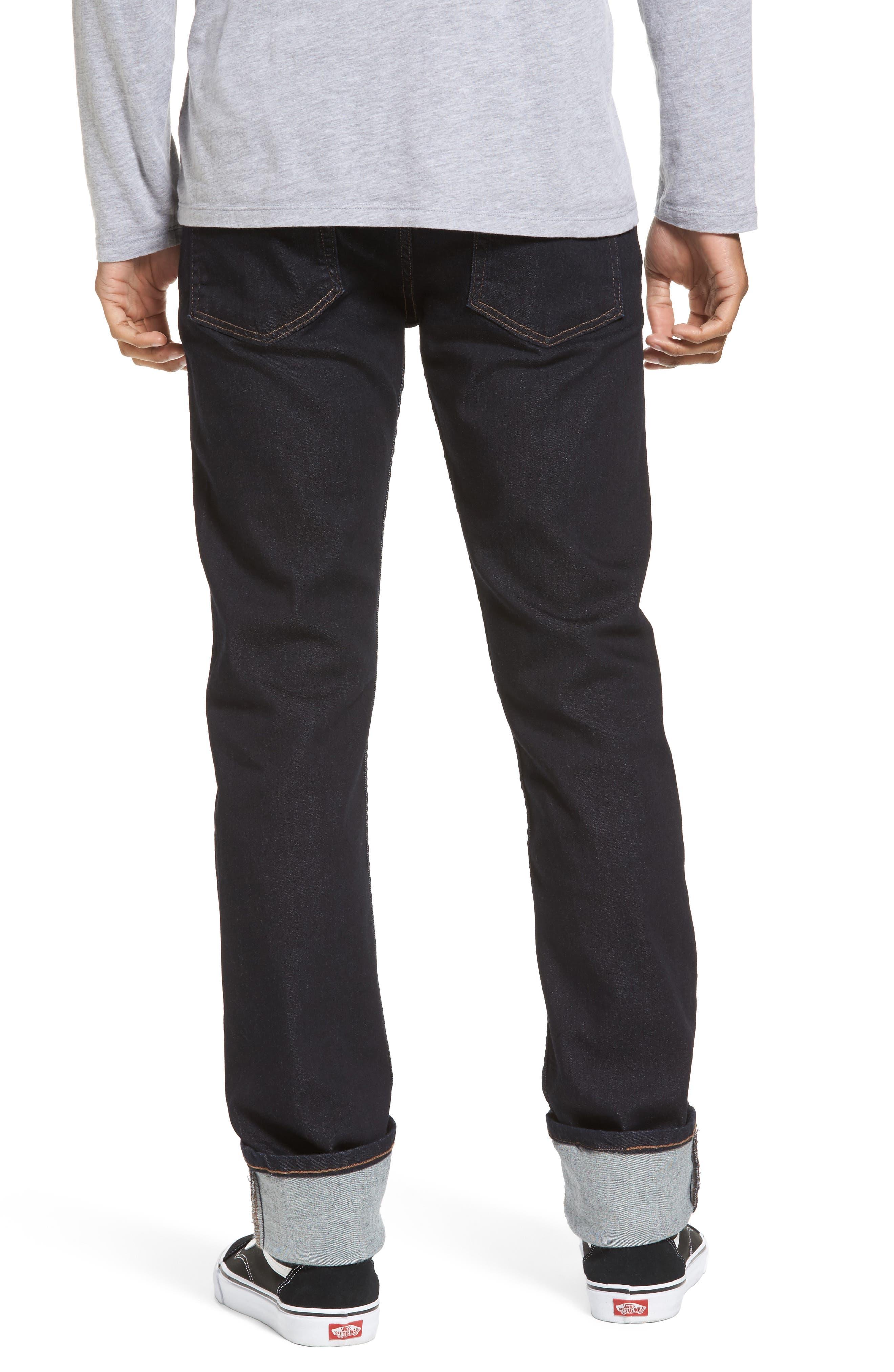 Weird Guy Slim Fit Jeans,                             Alternate thumbnail 2, color,                             Indigo