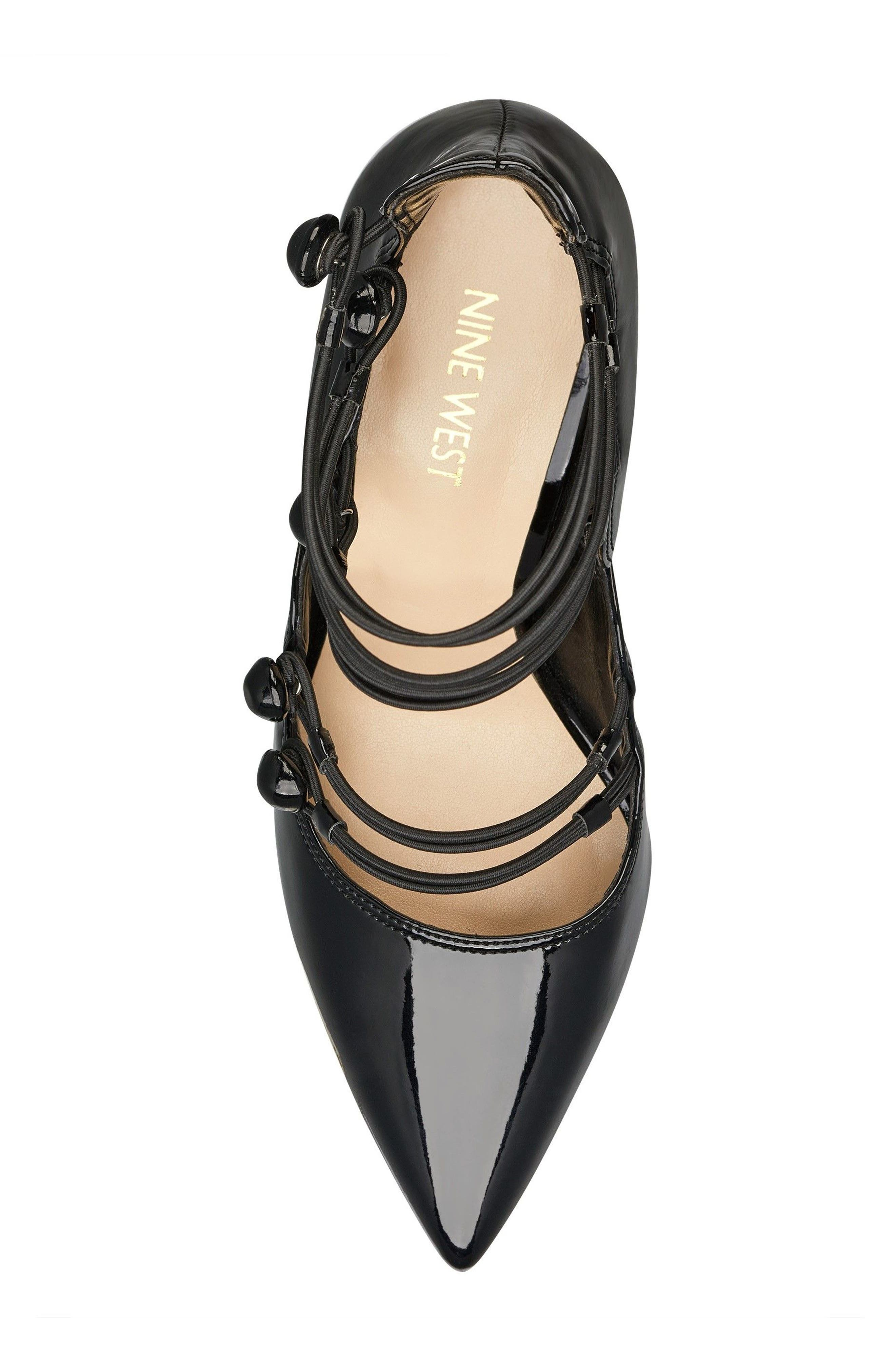 Alternate Image 5  - Nine West Tennyson Strappy Pump (Women)