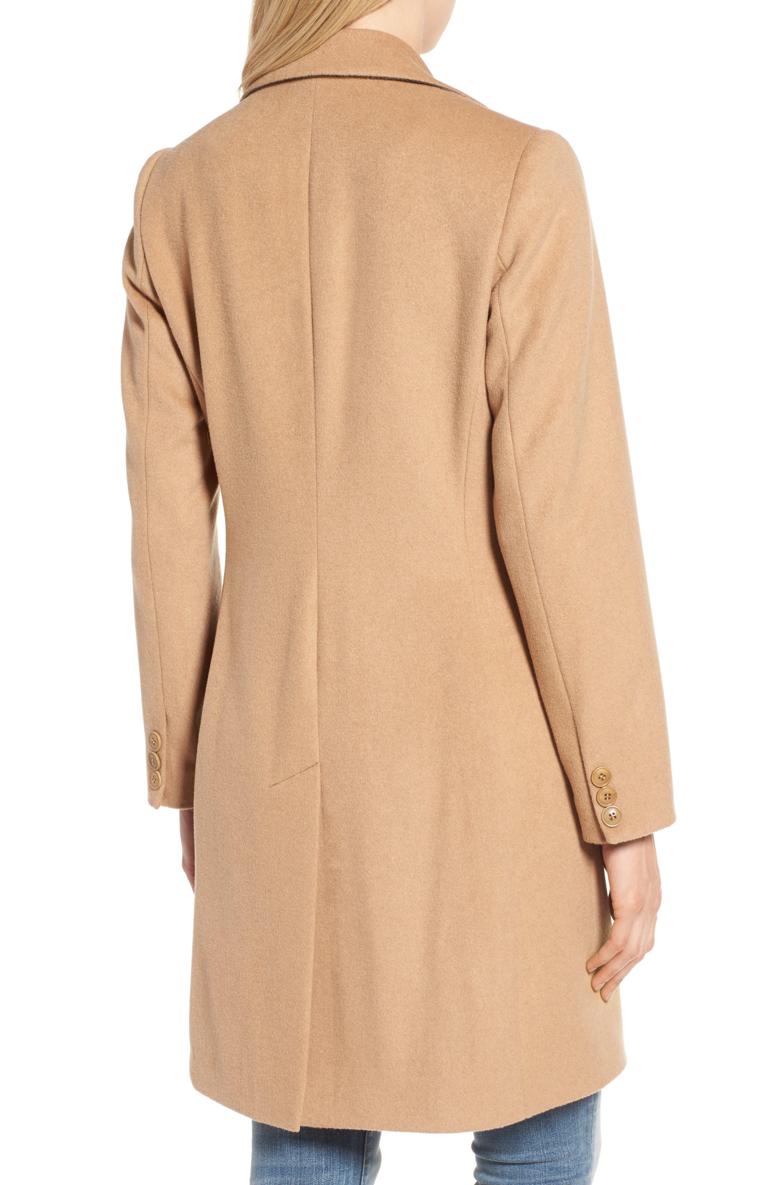 Alternate Image 3  - Kristen Blake Walking Coat (Regular & Petite)