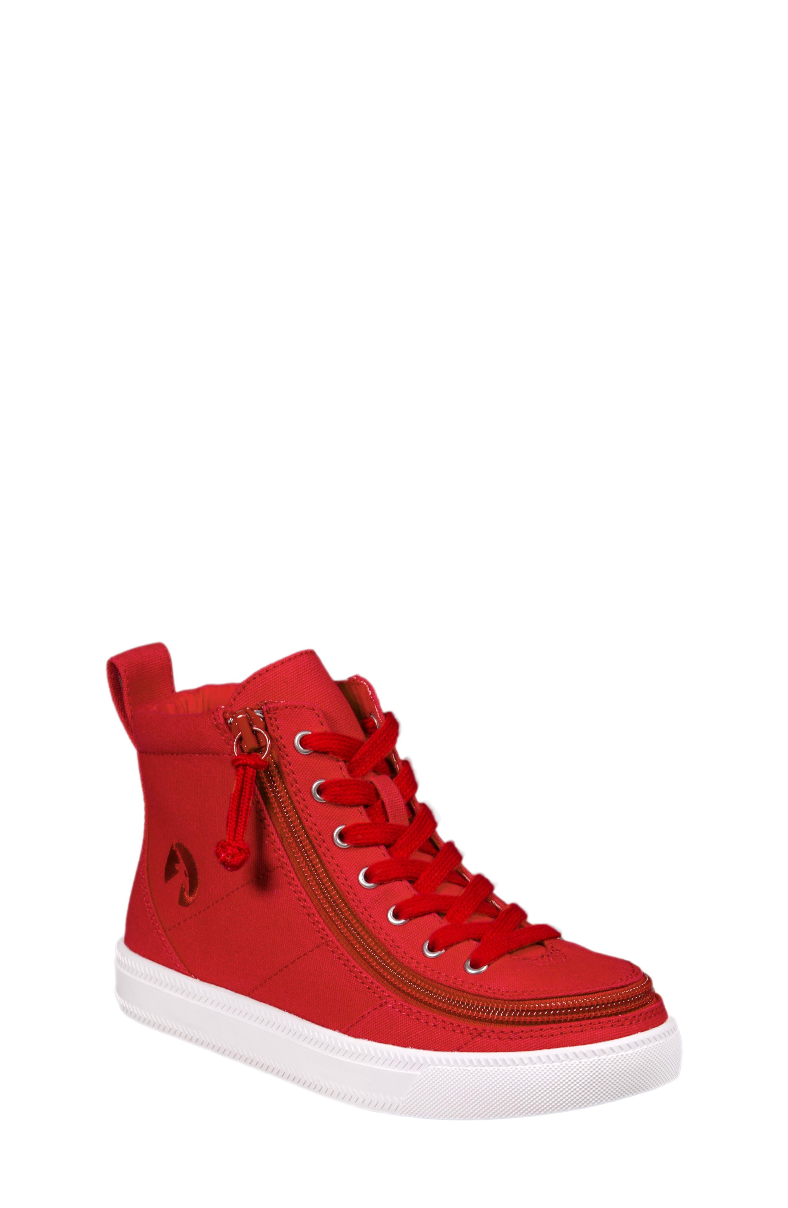 Alternate Image 1 Selected - BILLY Footwear Zip Around High Top Sneaker (Toddler, Little Kid & Big Kid)