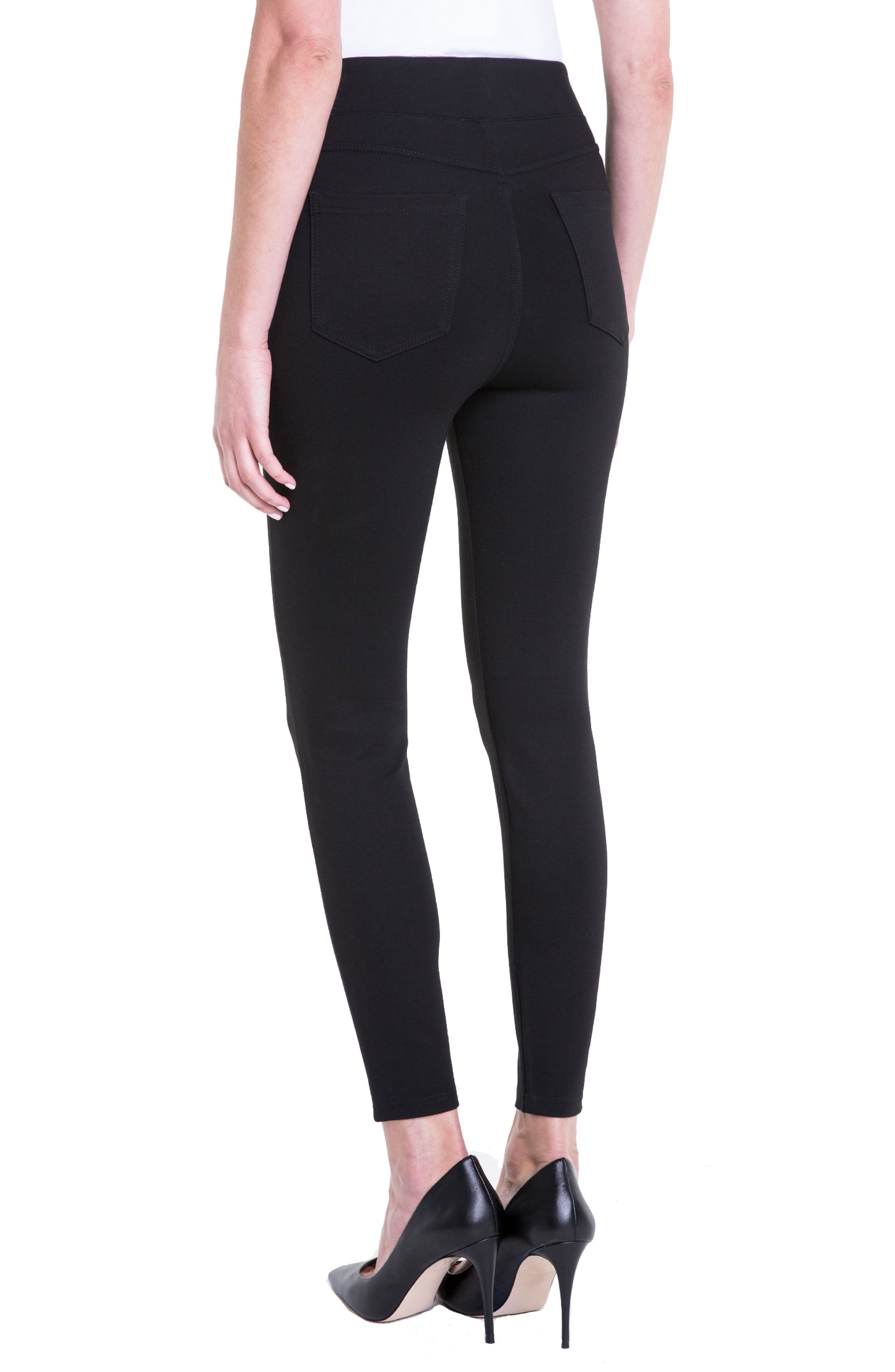 Alternate Image 3  - Liverpool Jeans Company Bridget High Waist Pull-On Ankle Leggings