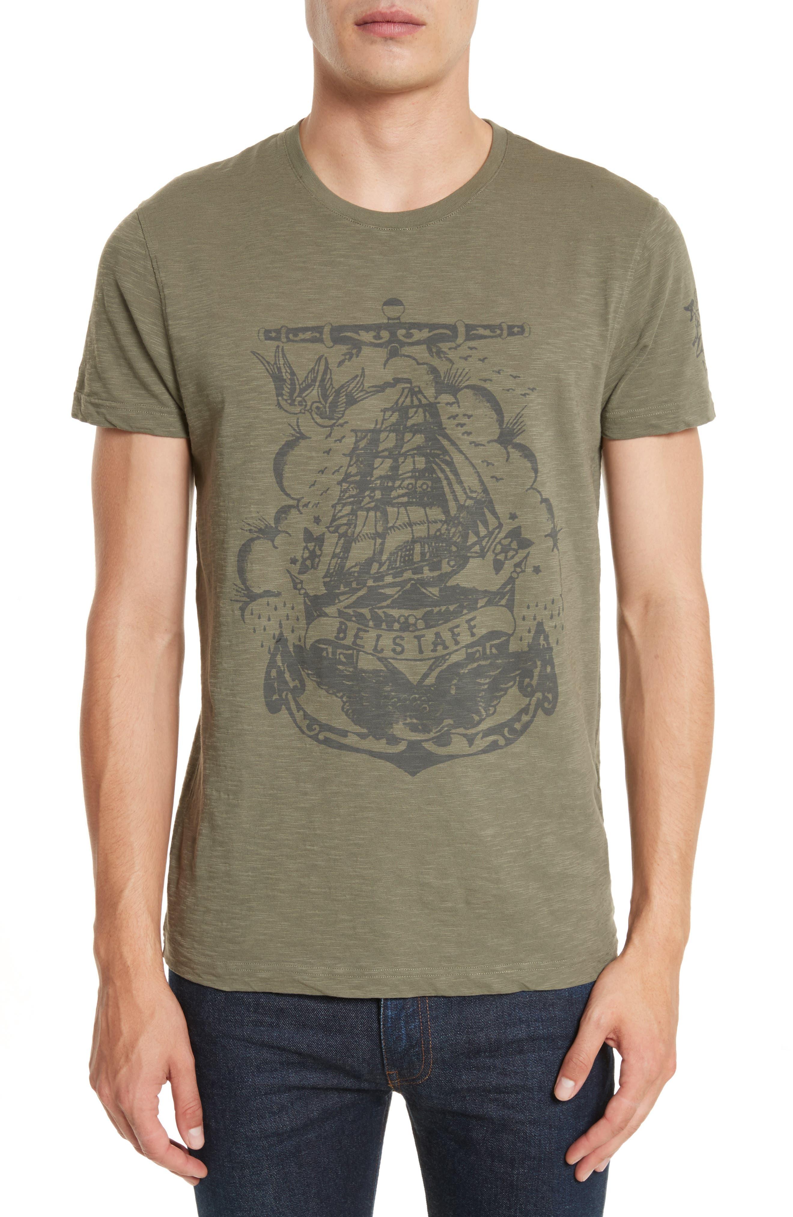 BELSTAFF Hunsdon Graphic T-Shirt