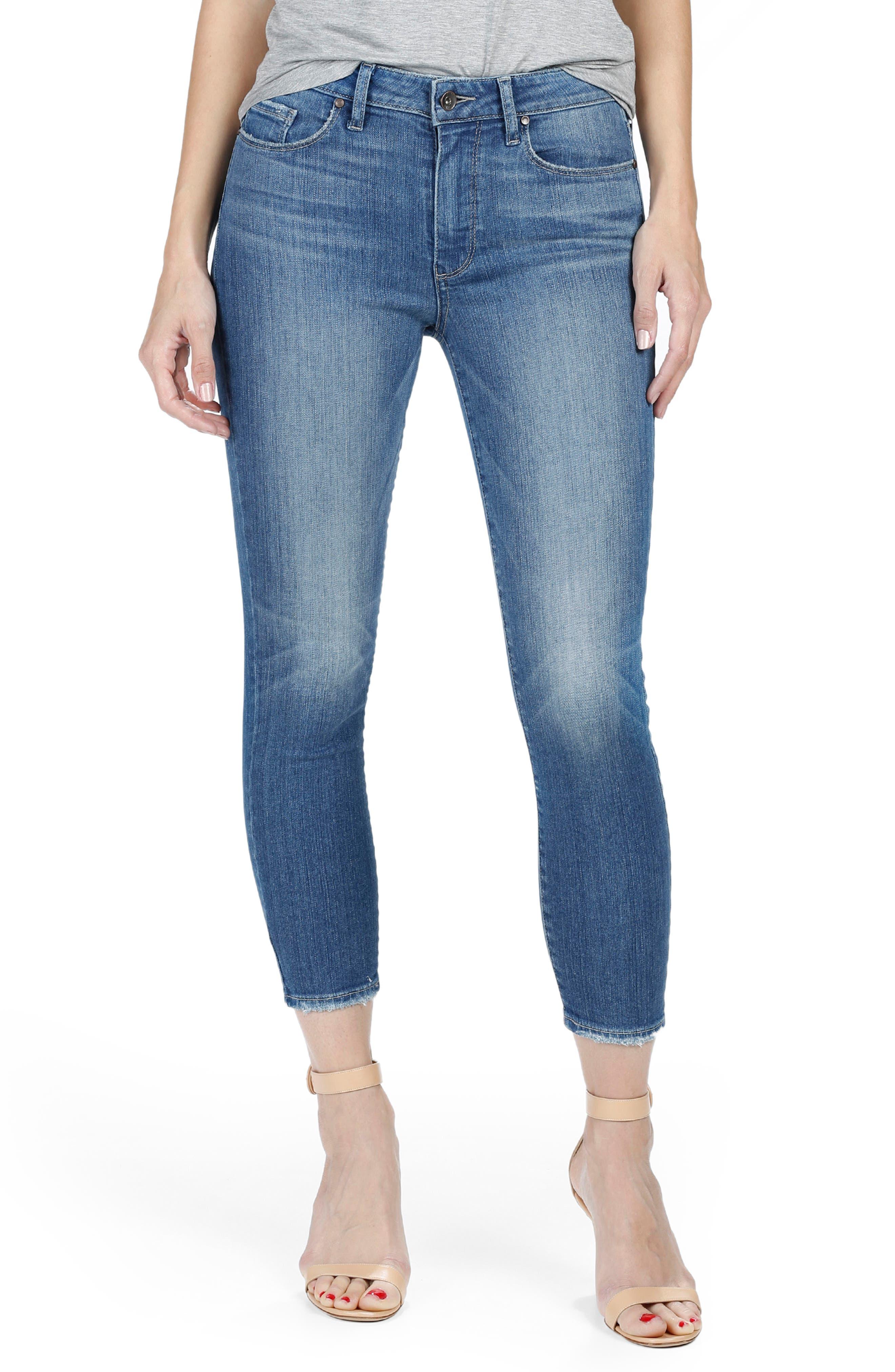 Main Image - PAIGE Verdugo Ultra Skinny Jeans (Evelina)