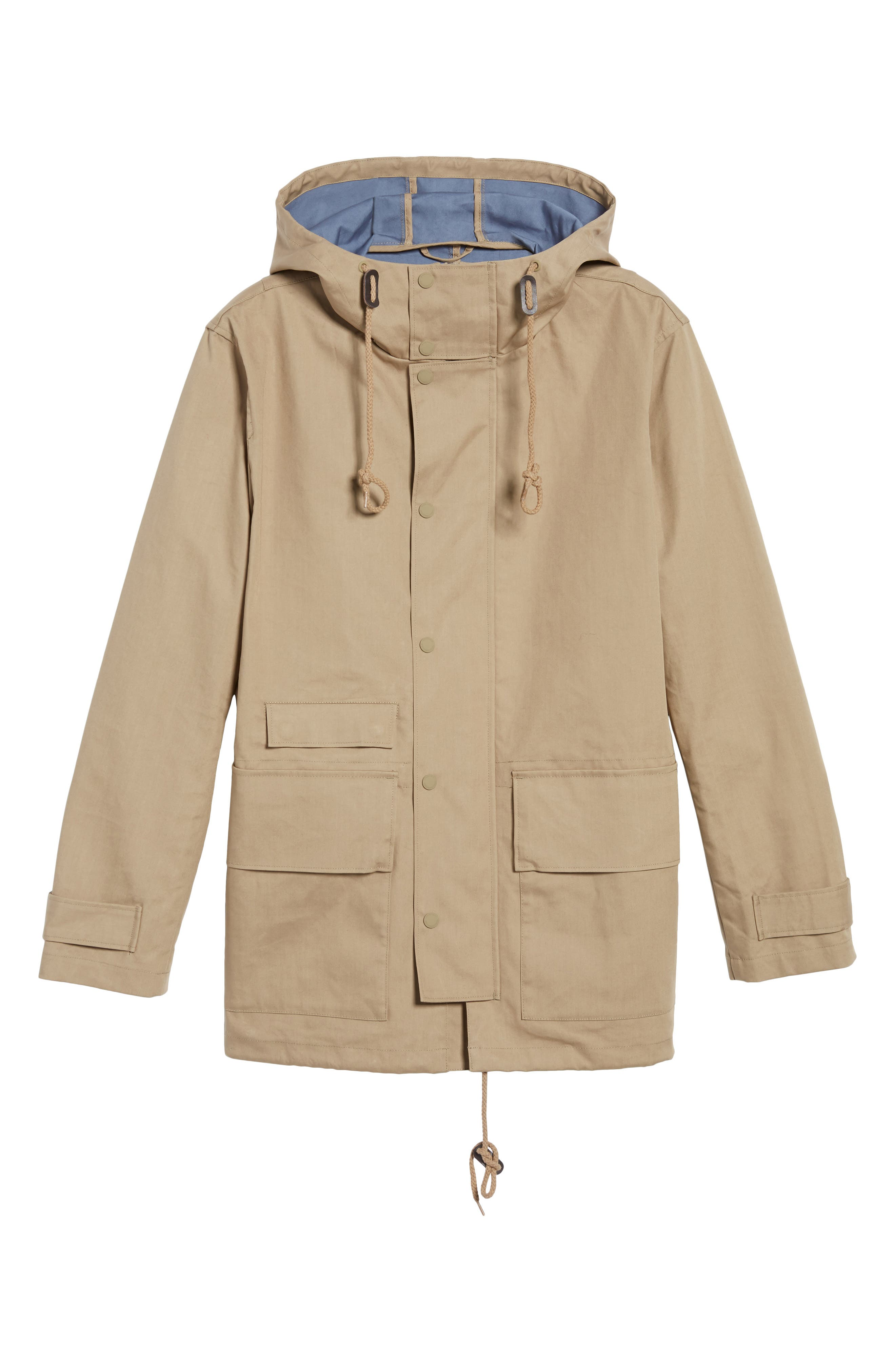 Alternate Image 5  - French Connection Regular Fit Hooded Rain Jacket