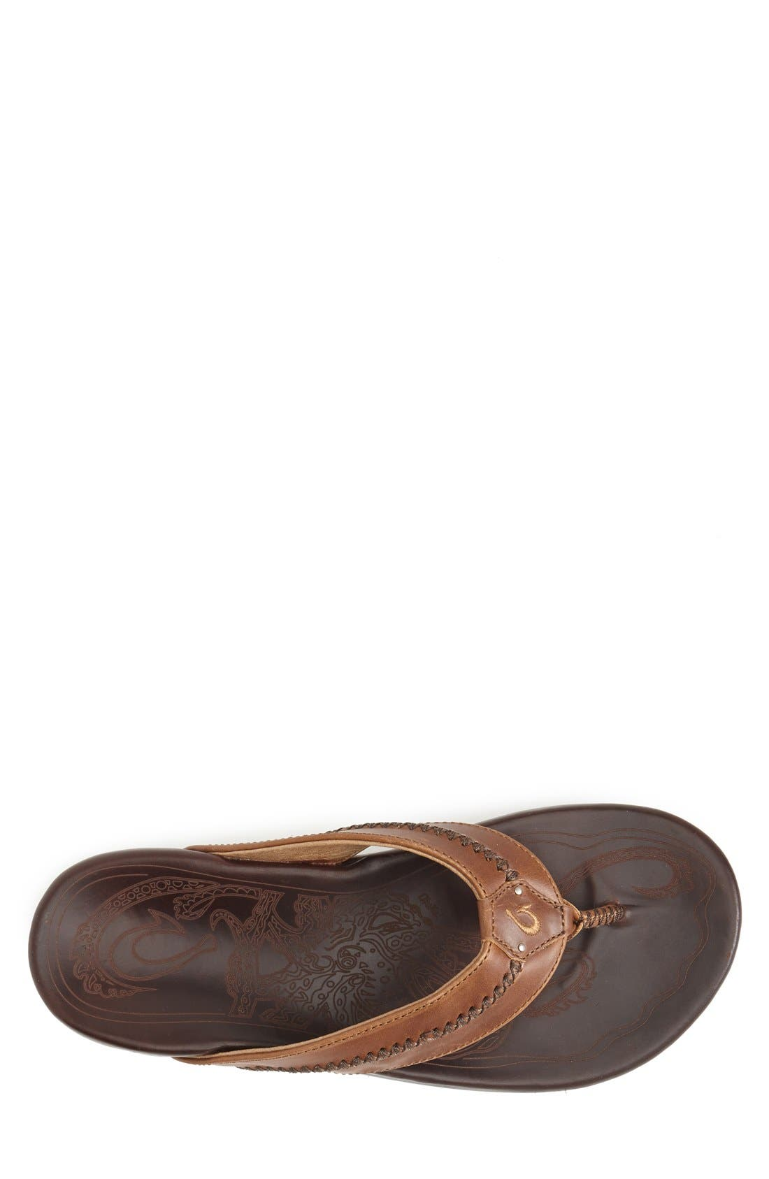 Alternate Image 3  - OluKai 'Mea Ola' Flip Flop (Men)