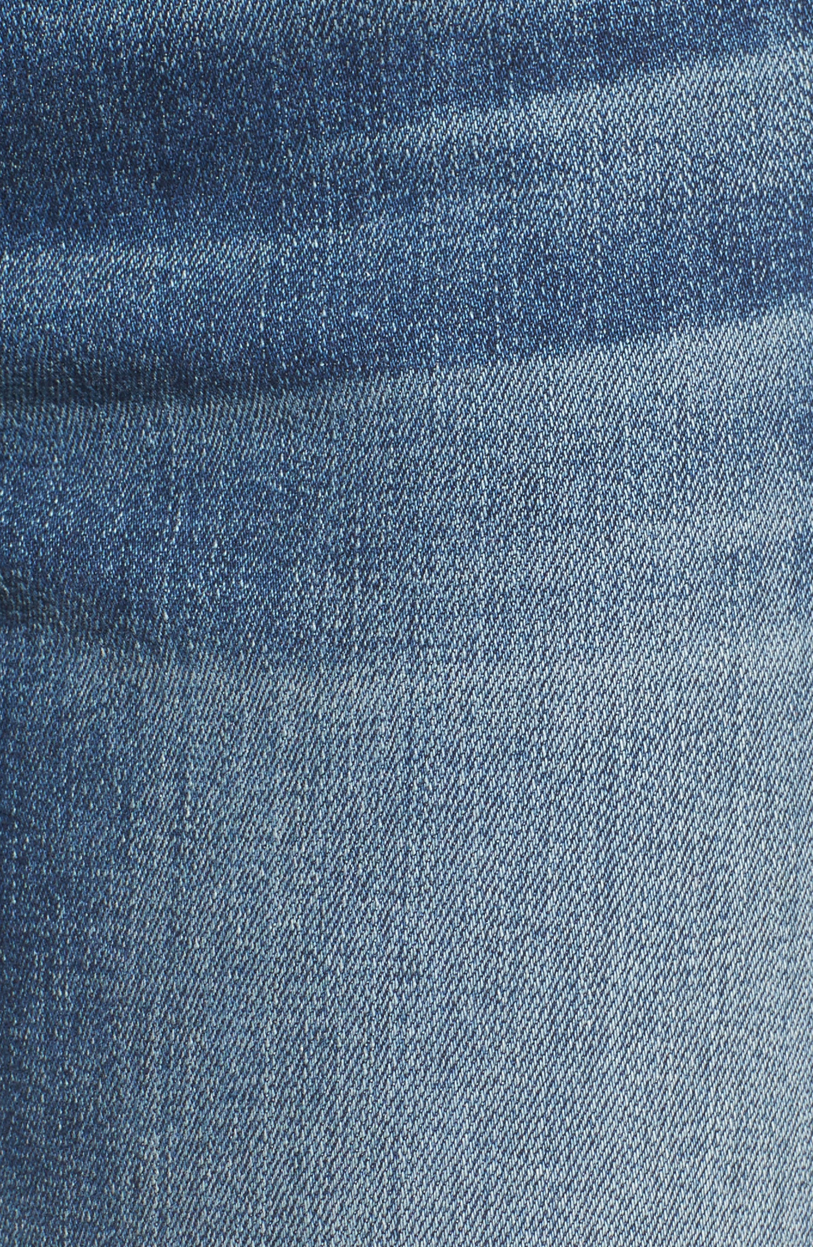 Crop Bootcut Jeans,                             Alternate thumbnail 5, color,                             Wall Street Heritage
