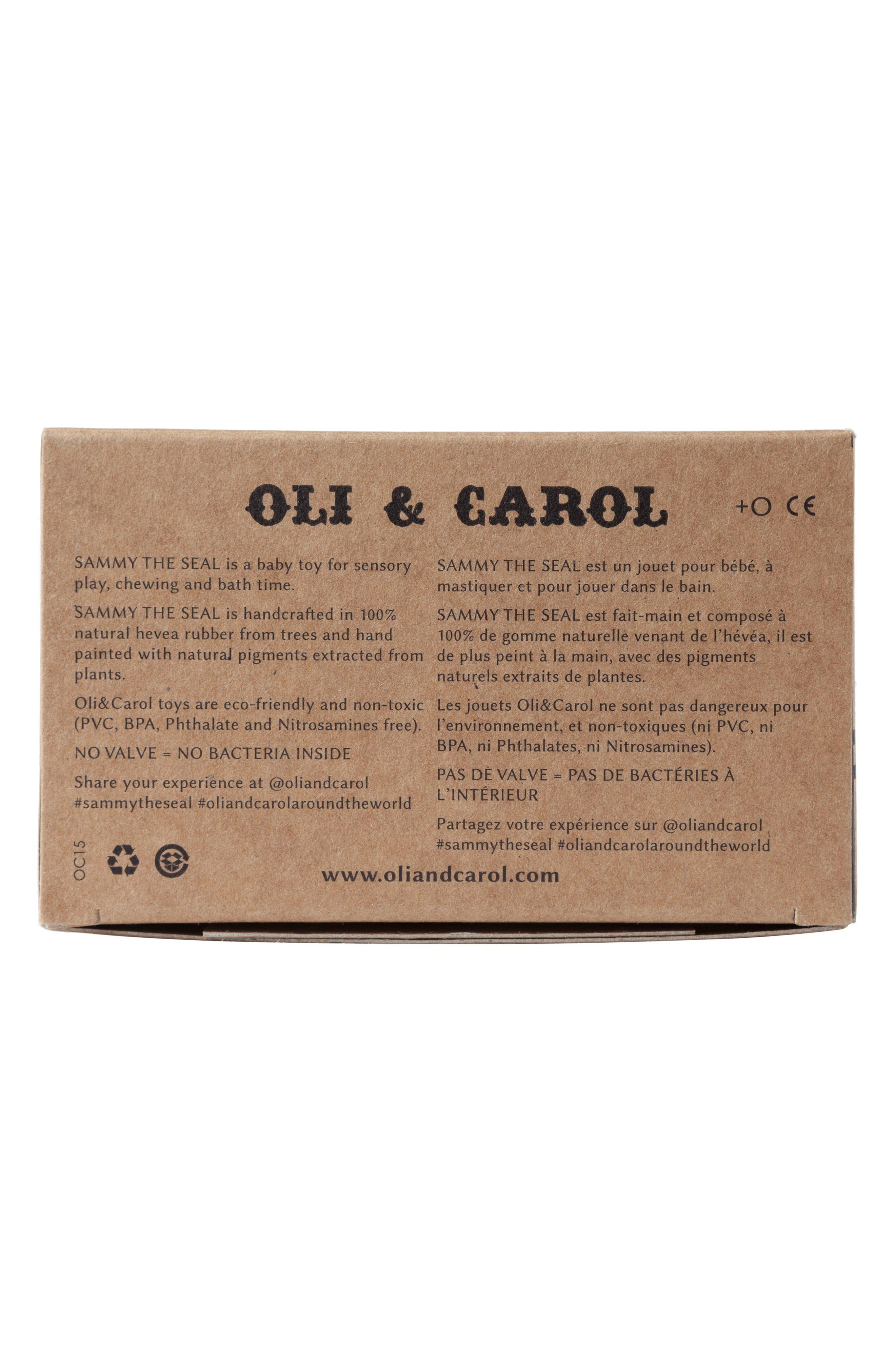 Alternate Image 6  - Oli and Carol Sammy the Seal Teething Toy