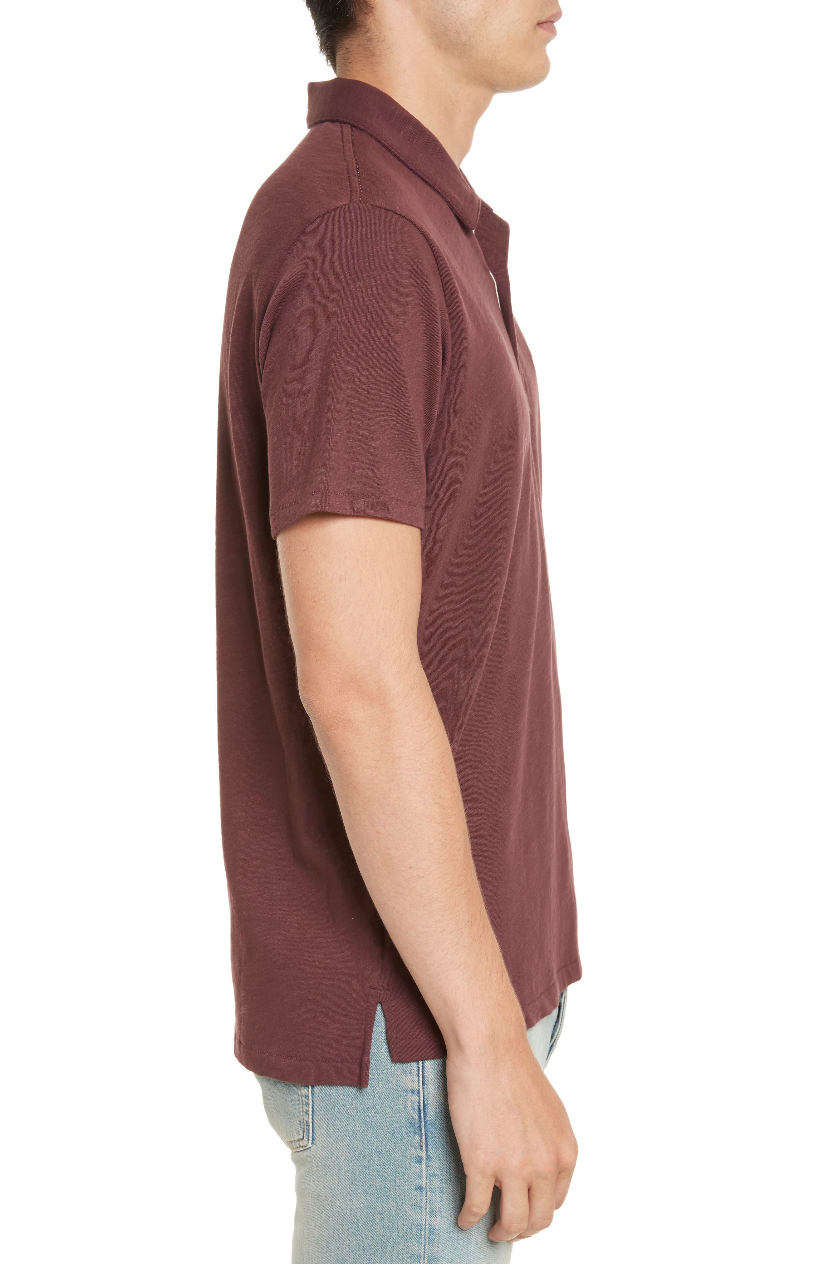Alternate Image 3  - rag & bone Standard Issue Slub Jersey Polo