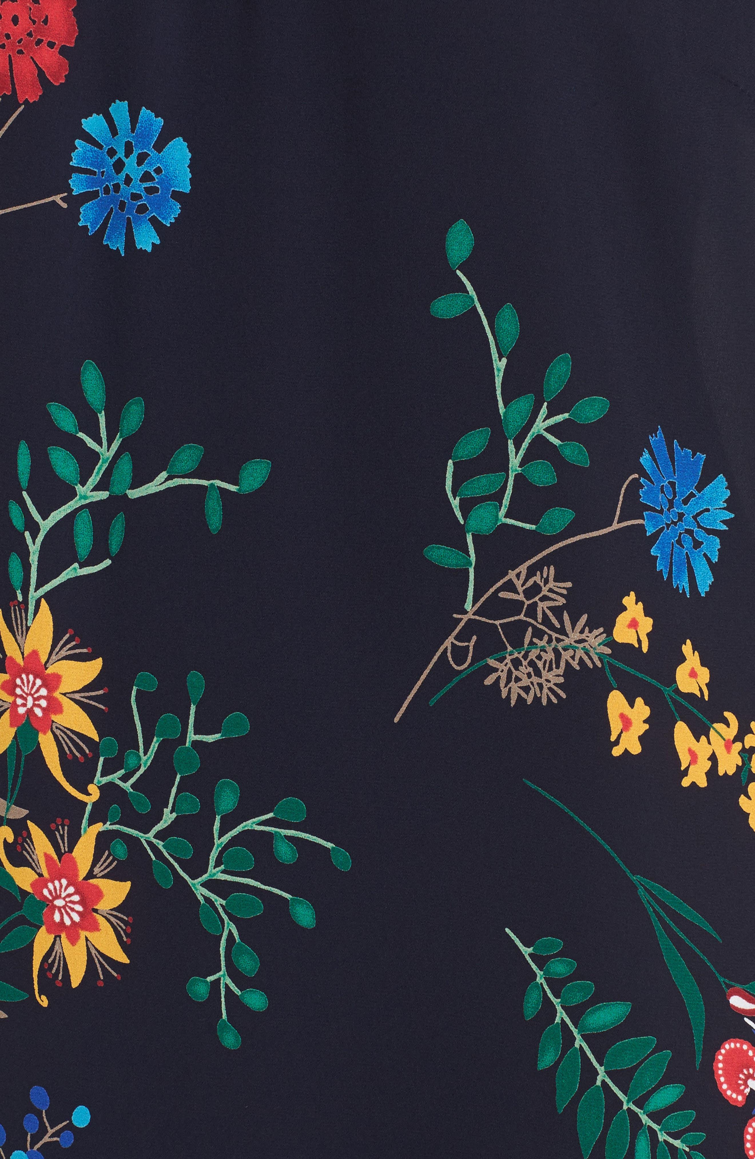 Alternate Image 5  - Soprano Print Off the Shoulder Midi Dress