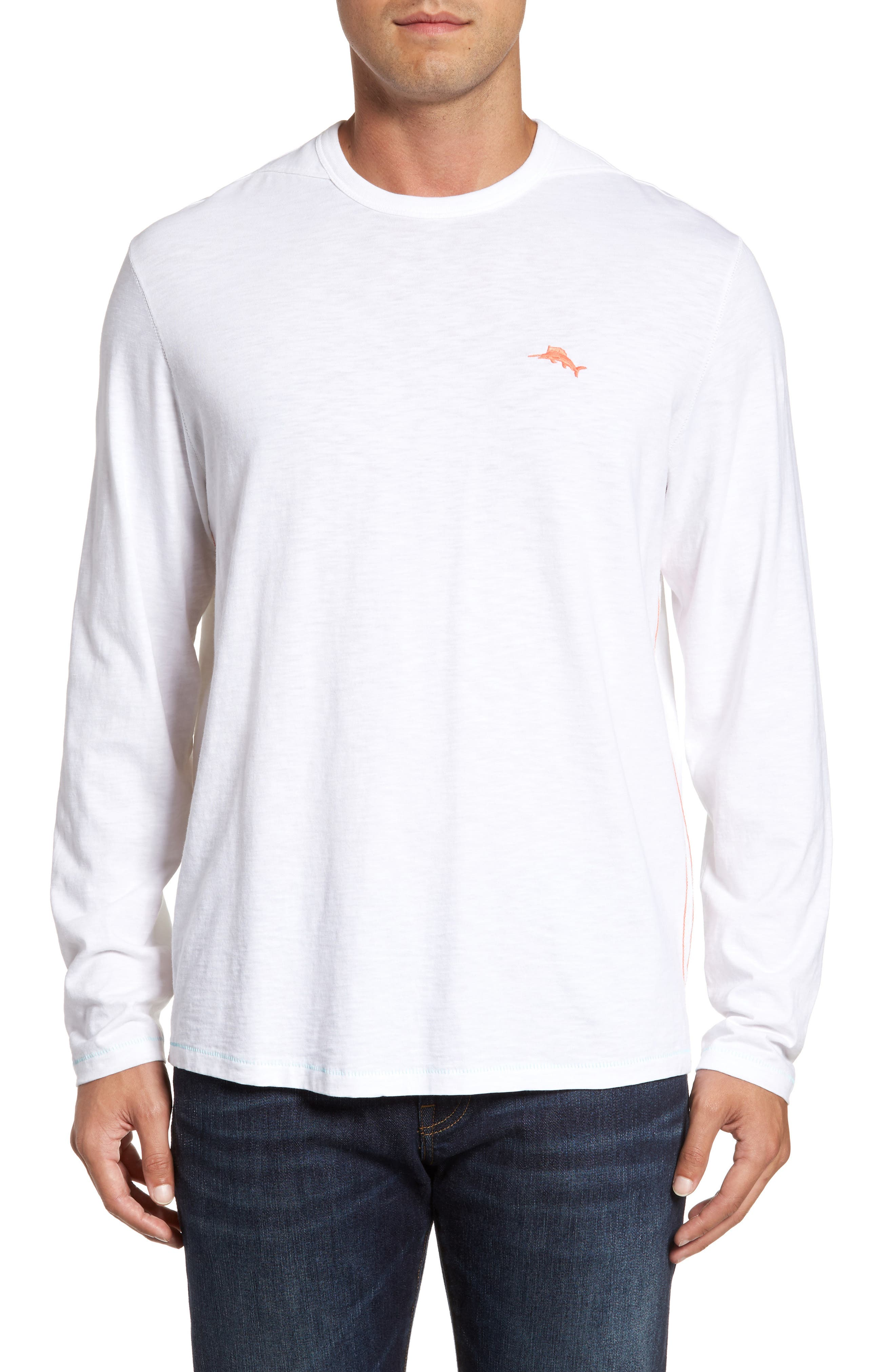 Relax at Sea Lux T-Shirt,                         Main,                         color, White