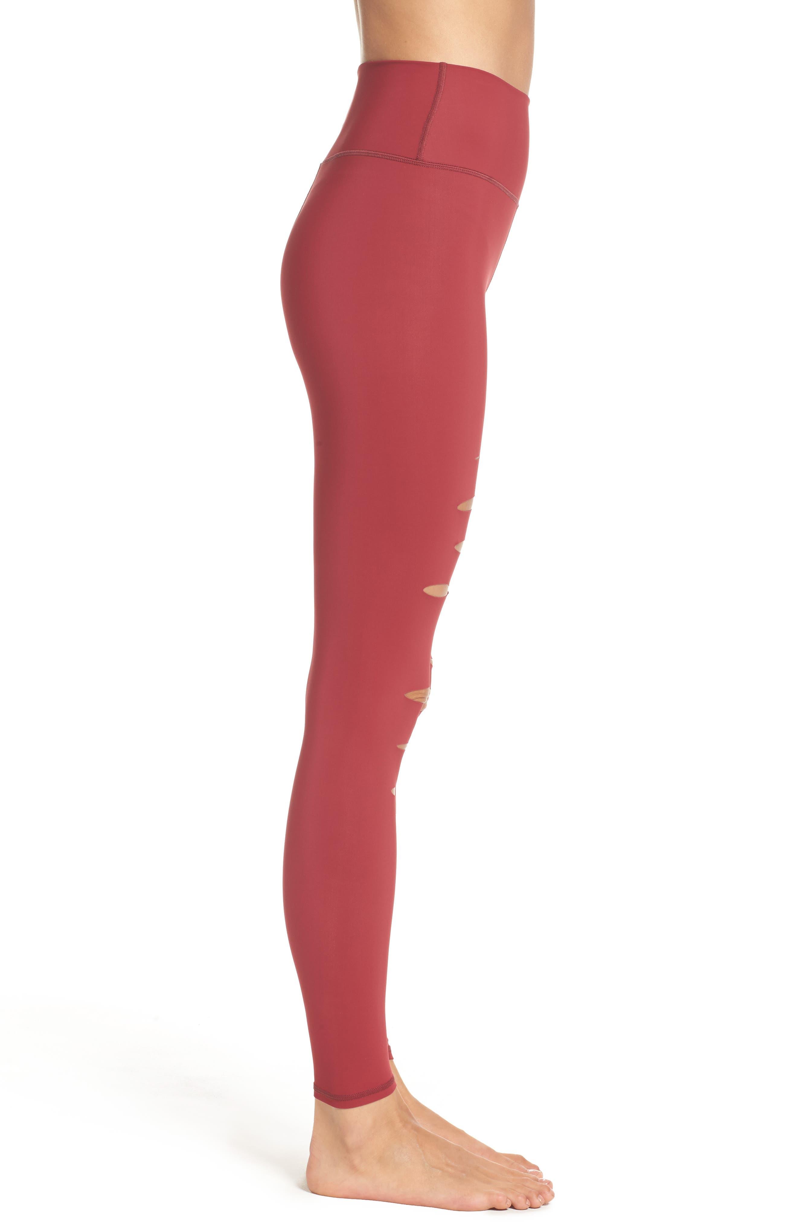 Alternate Image 3  - Alo Ripped Airbrush Leggings