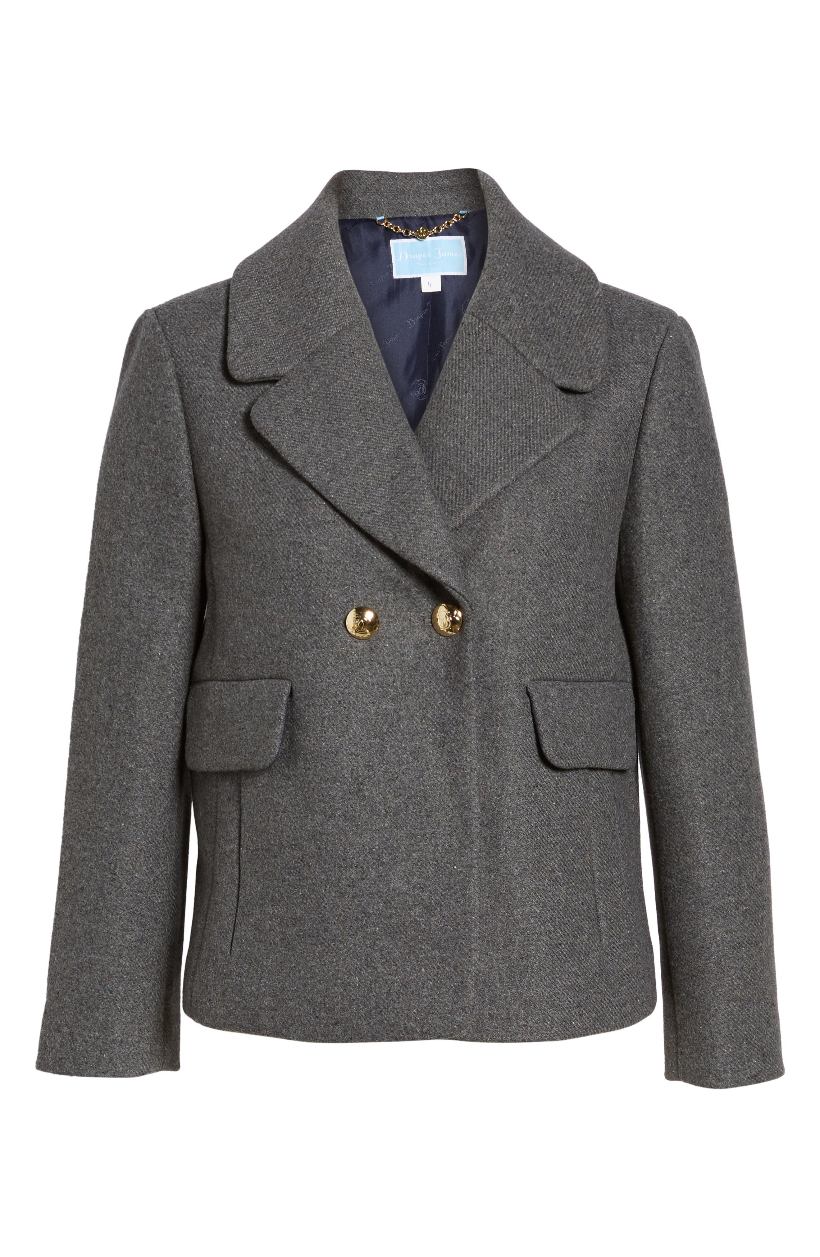 Alternate Image 6  - Draper James Campbell Short Coat
