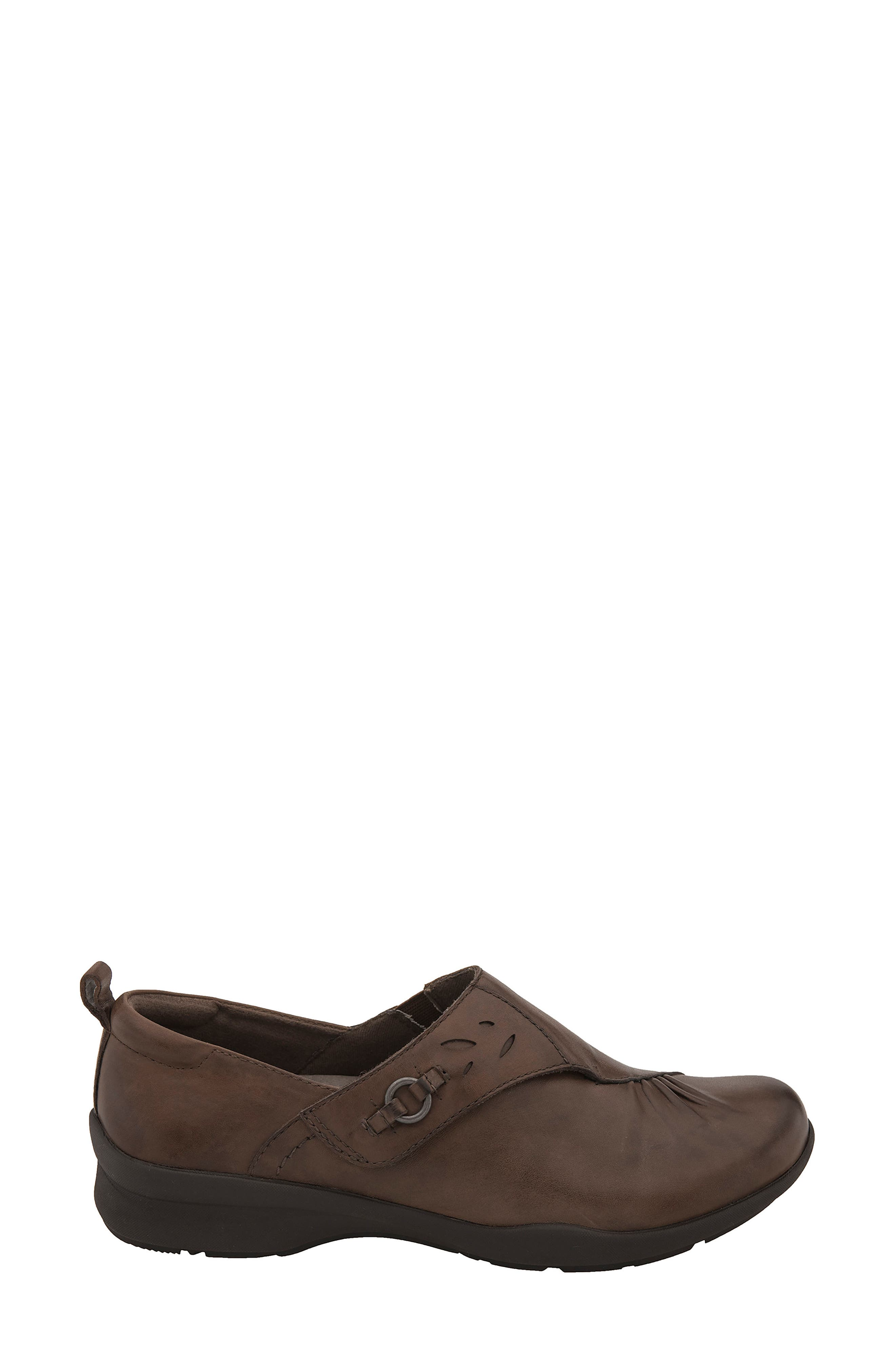 Amity Loafer,                             Alternate thumbnail 3, color,                             Almond Leather