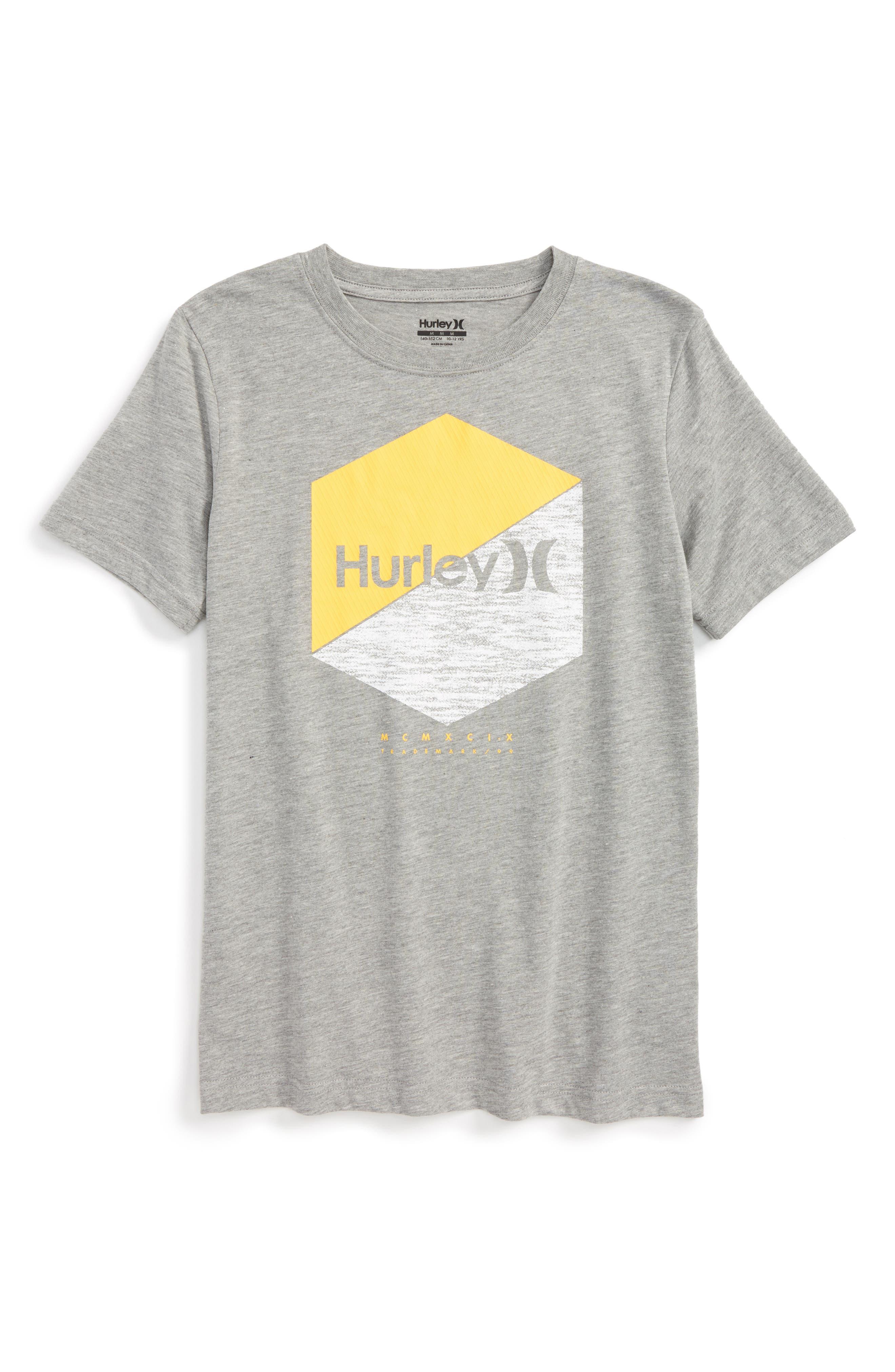 Hurley Two Times Graphic T-Shirt (Big Boys)