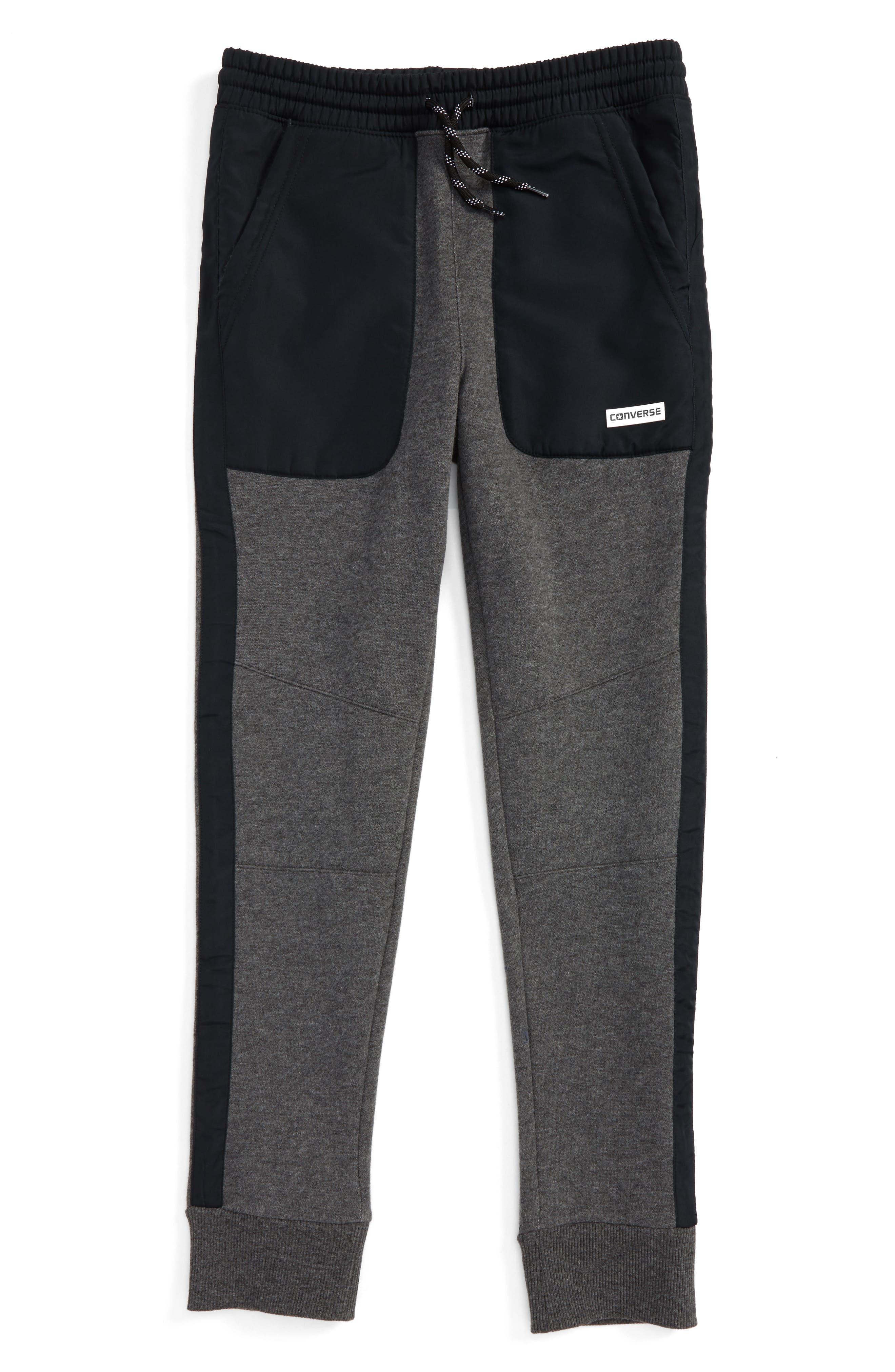 CONVERSE Knit & Woven Fashion Jogger Pants