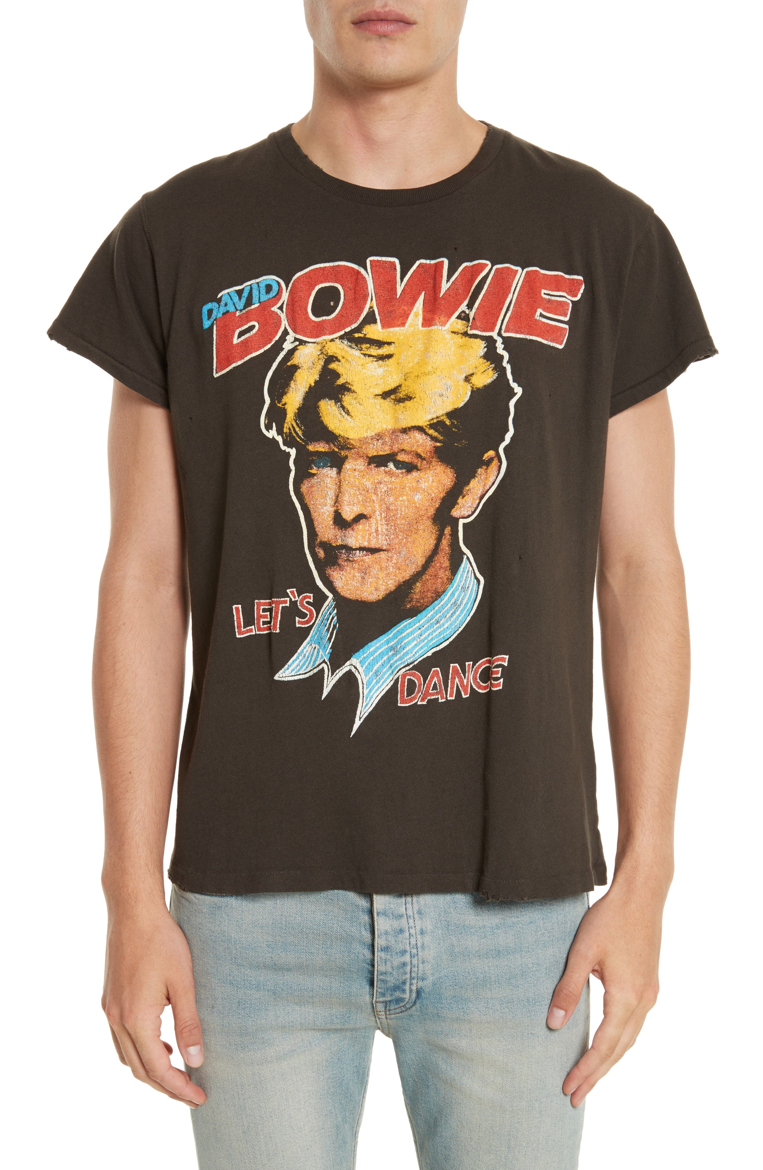 Alternate Image 1 Selected - Madeworn David Bowie Graphic T-Shirt