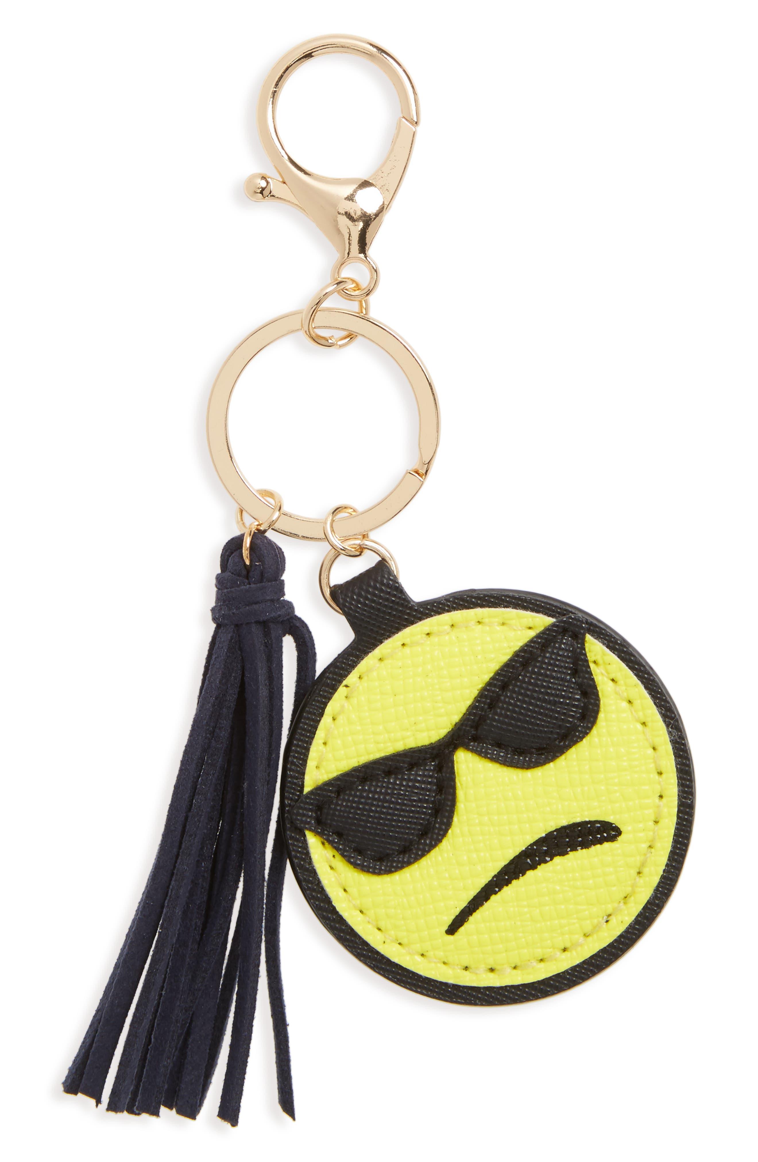 Alternate Image 1 Selected - Cara Emoji Key Chain (Kids)