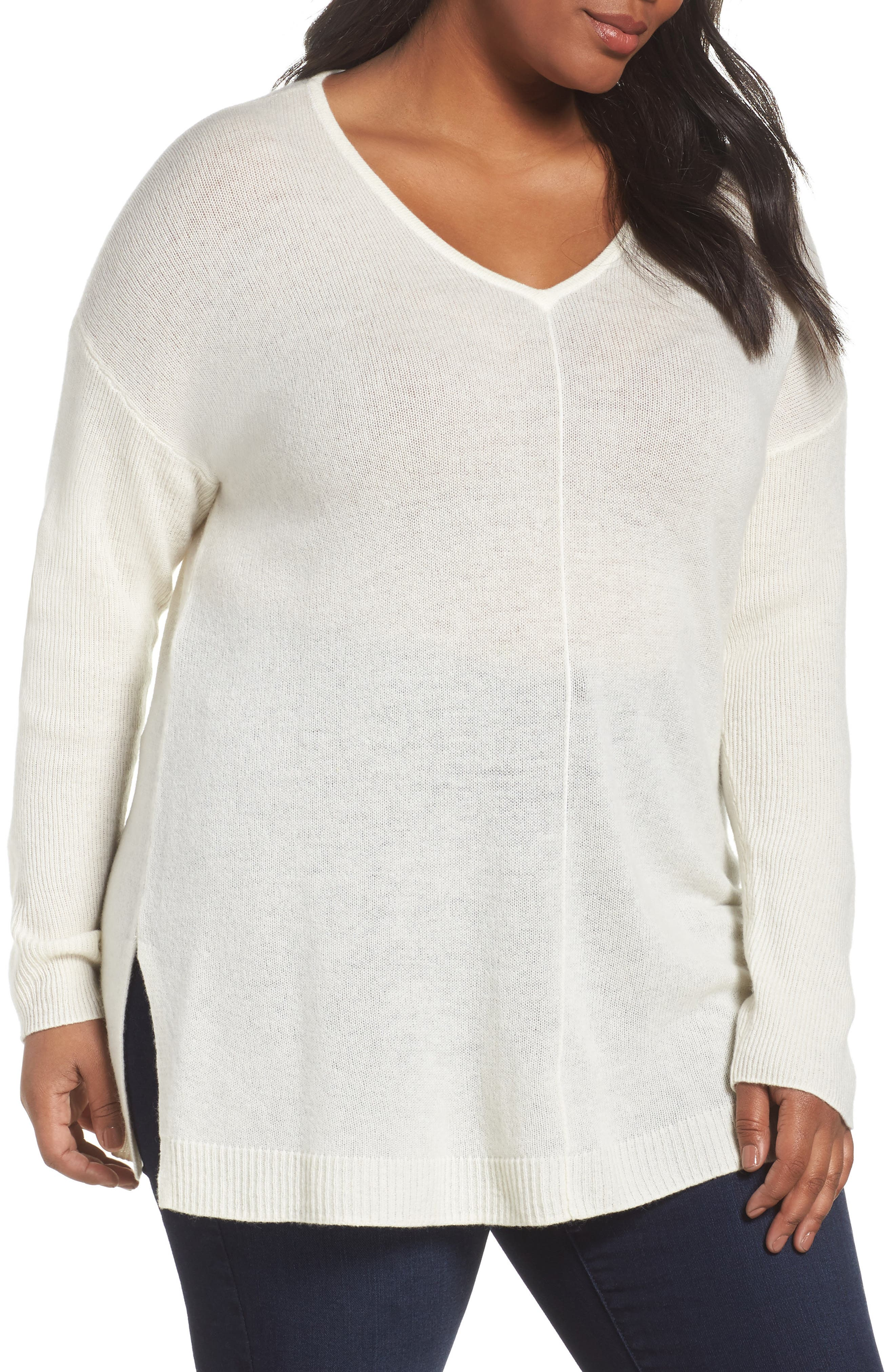 Women's Off-White Cashmere Sweaters | Nordstrom