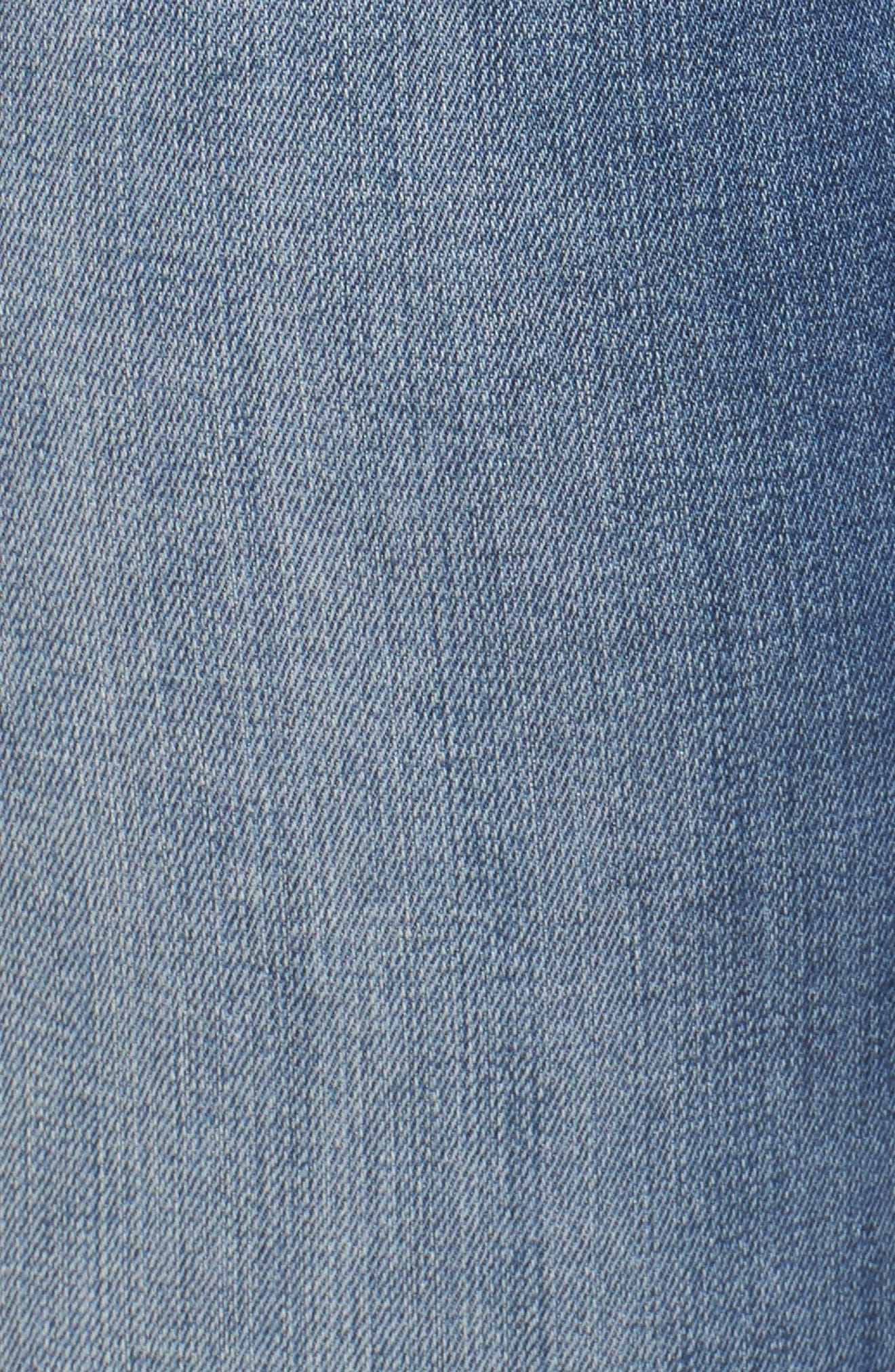 Alternate Image 5  - Melissa McCarthy Seven7 Cuffed Girlfriend Jeans (Boston) (Plus Size)