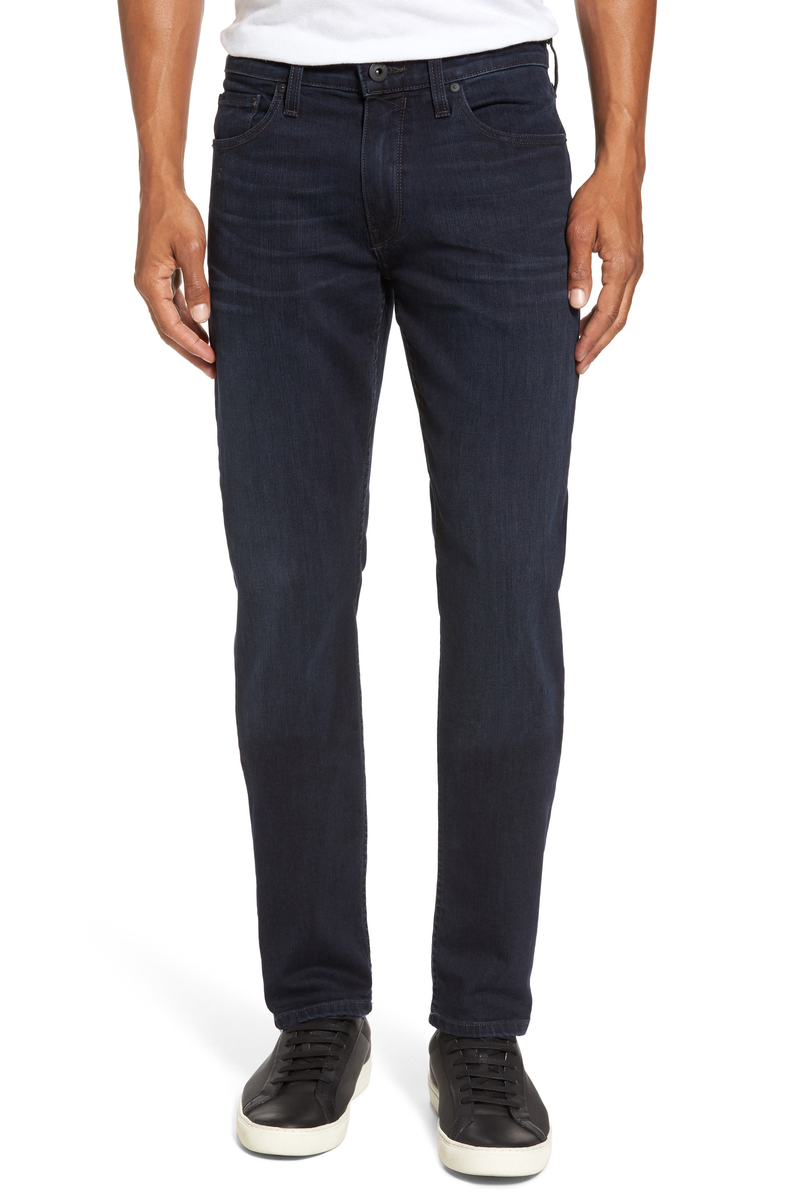 PAIGE Transcend - Lennox Slim Fit Jeans (Beckett)
