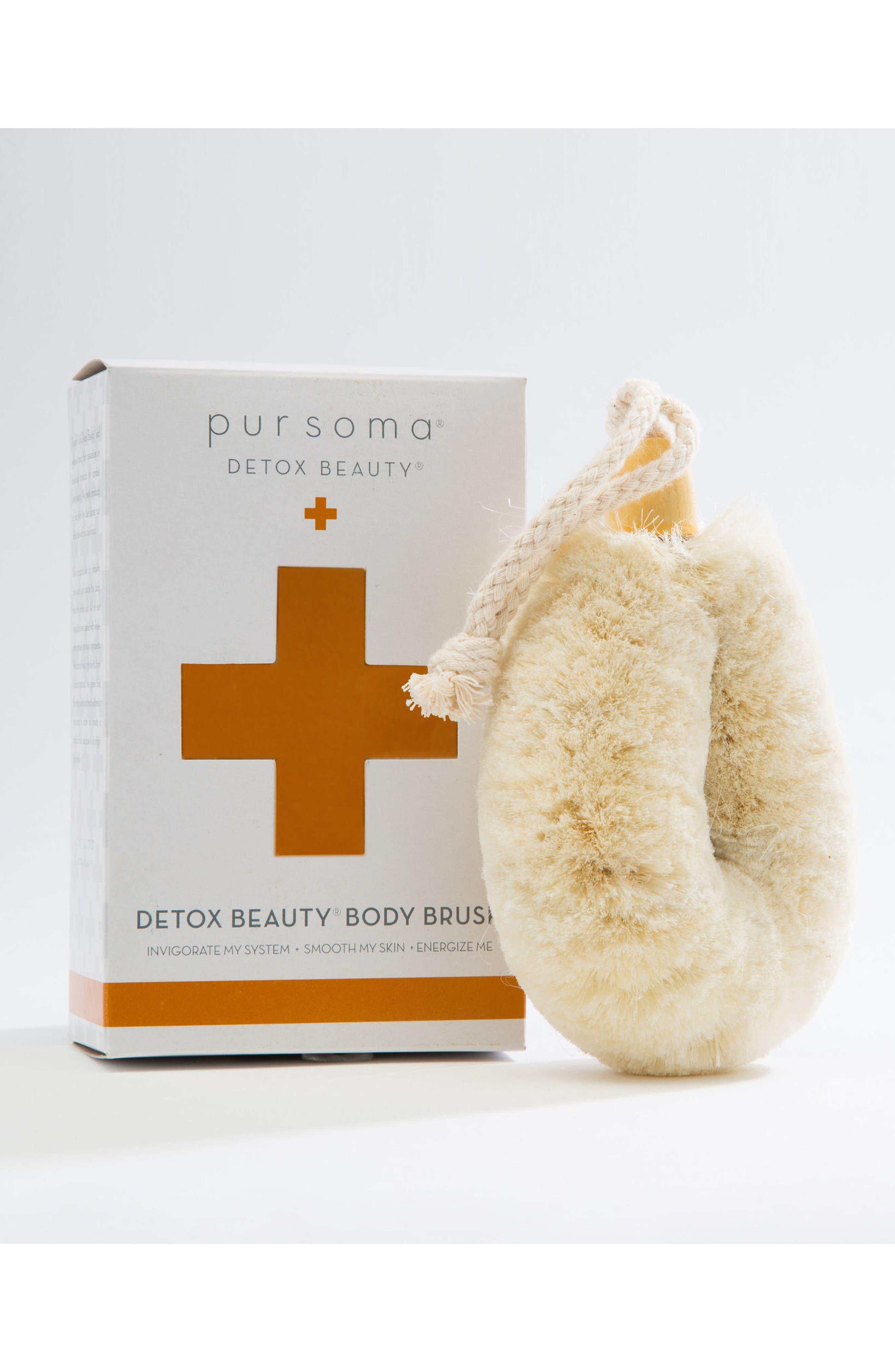 Detox Beauty Body Brush,                             Main thumbnail 1, color,                             No Color