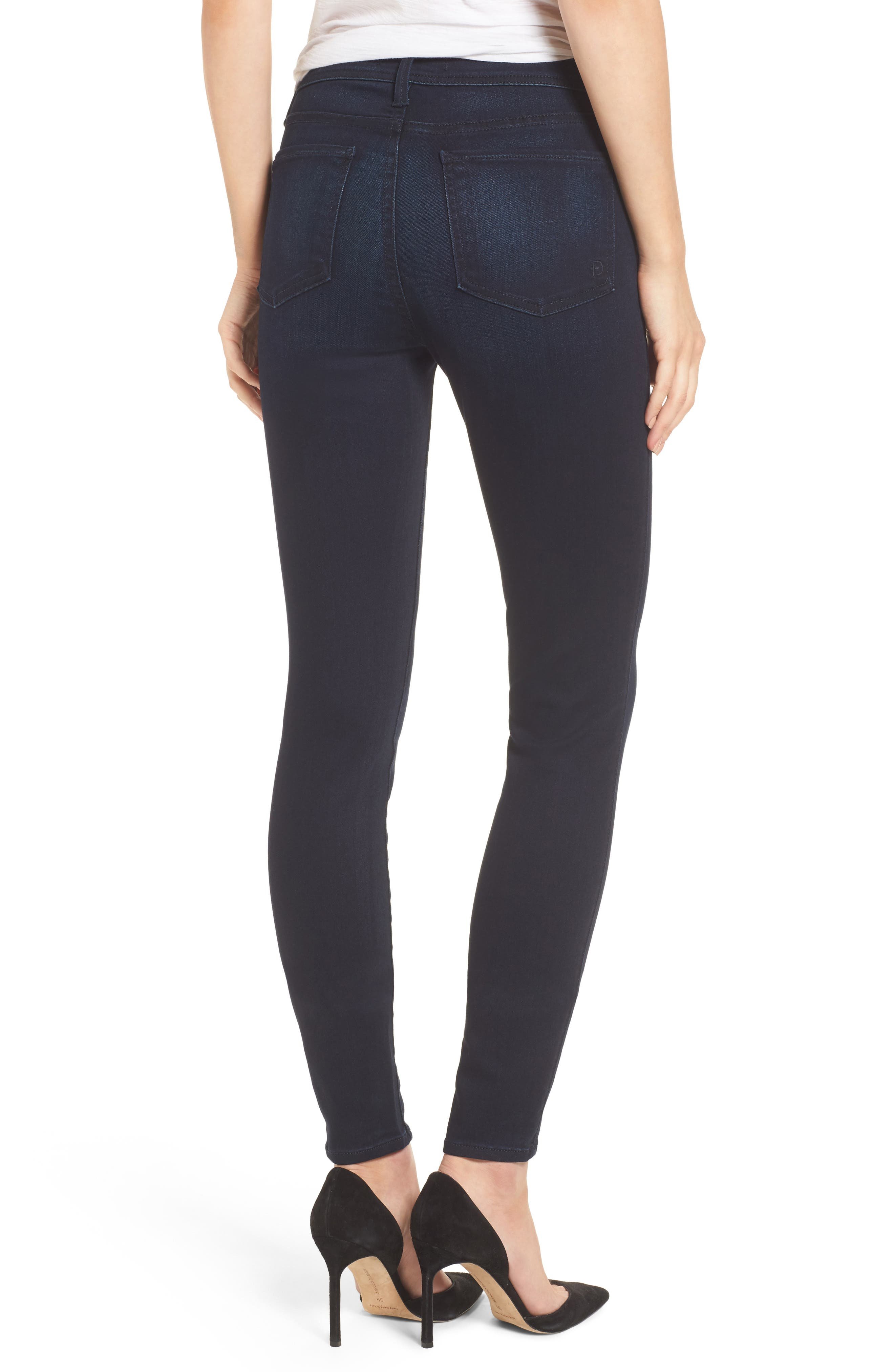 Fidelity Jeans Belvedere Skinny Jeans,                             Alternate thumbnail 2, color,                             Sapphire