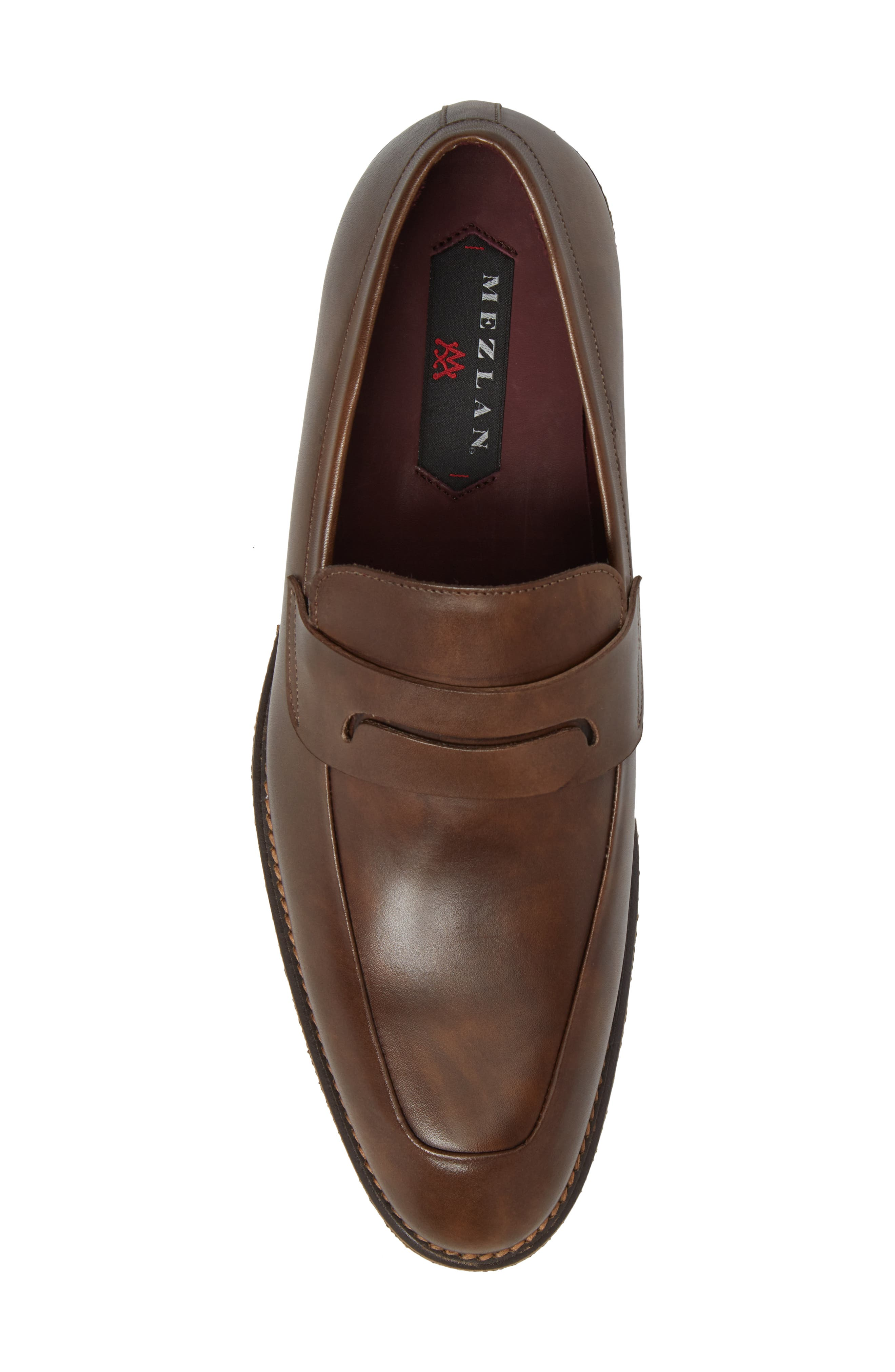 Cantonia Penny Loafer,                             Alternate thumbnail 5, color,                             Taupe Leather