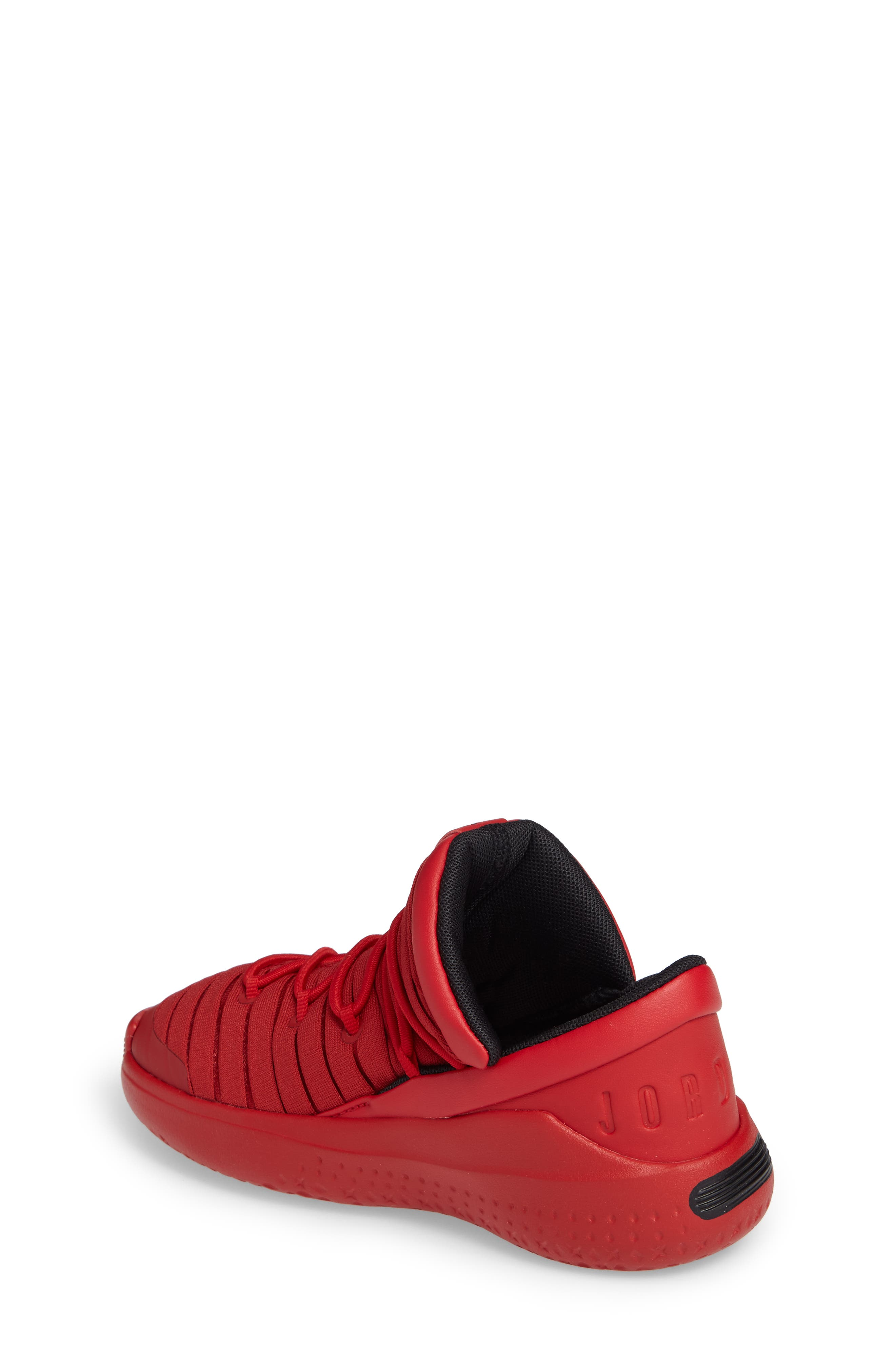 Flight Luxe Sneaker,                             Alternate thumbnail 2, color,                             Gym Red/ Black