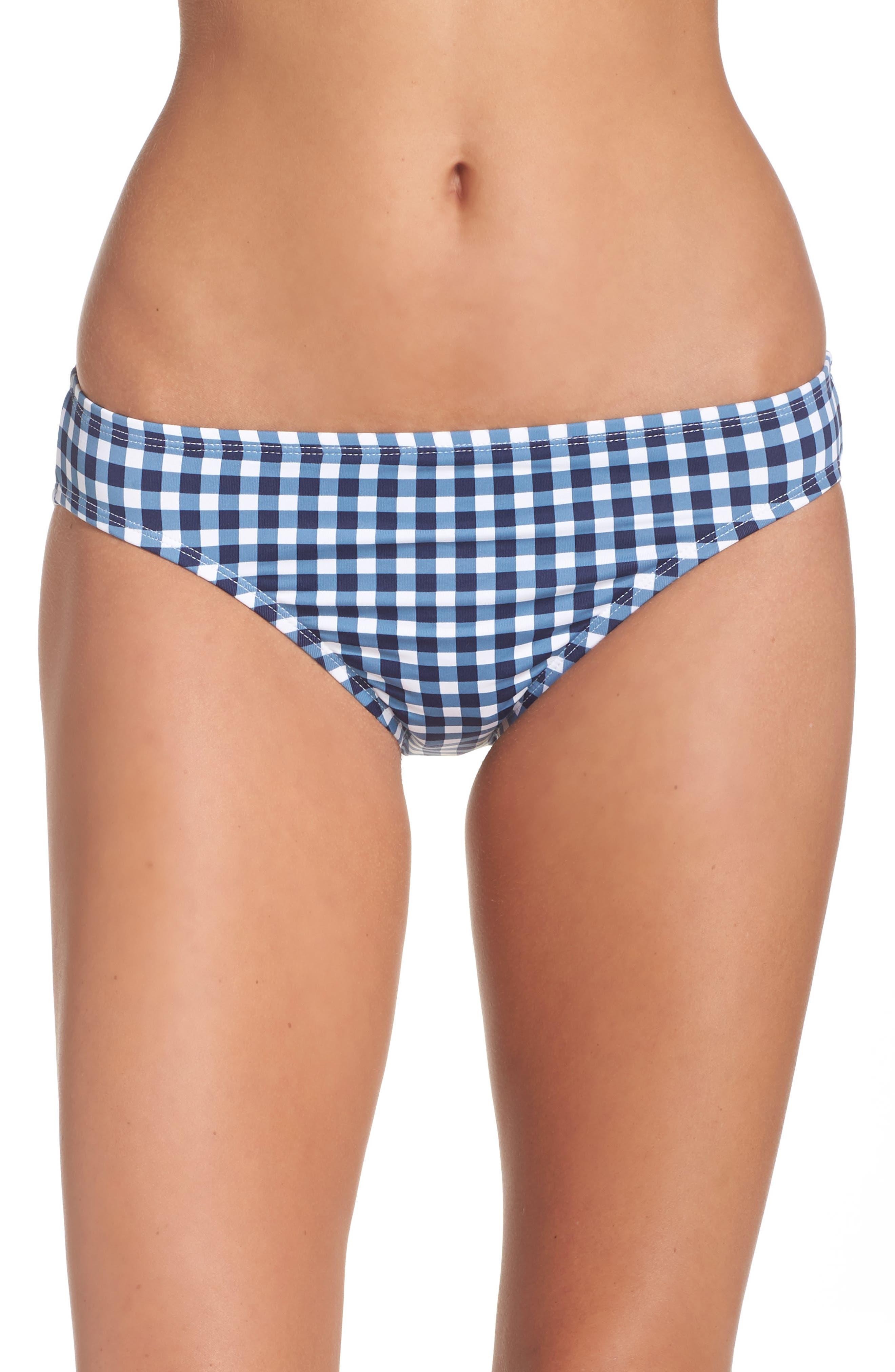 Main Image - Tommy Bahama Gingham Bikini Bottoms