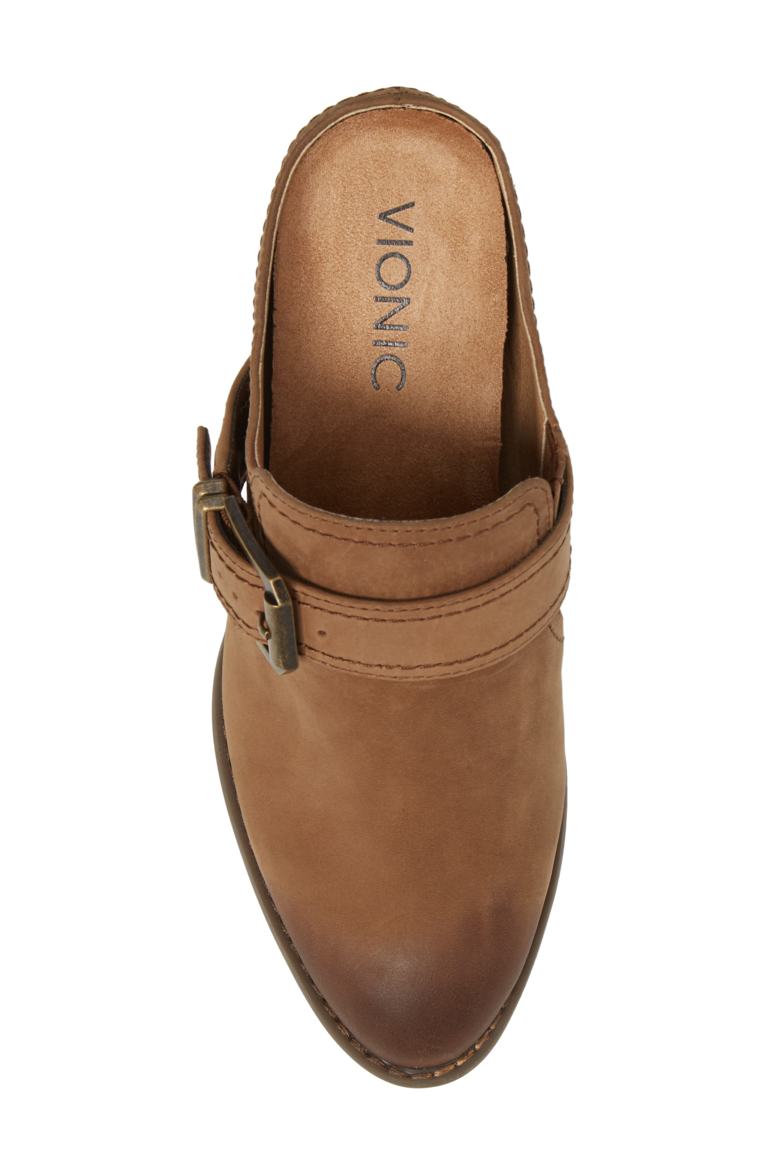 Cheyenne Mule,                             Alternate thumbnail 5, color,                             Brown Leather