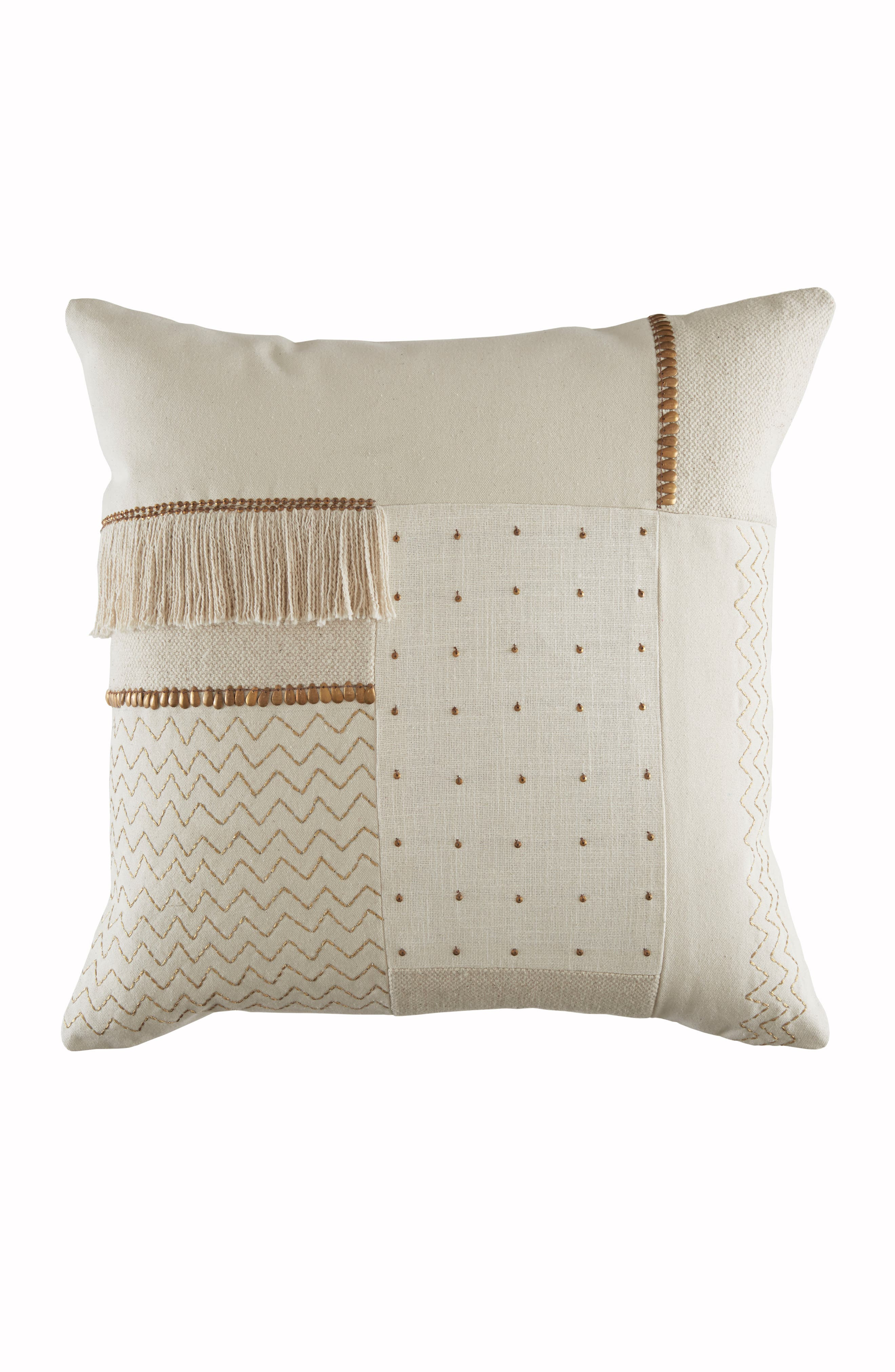 Zadie Accent Pillow,                         Main,                         color, Natural