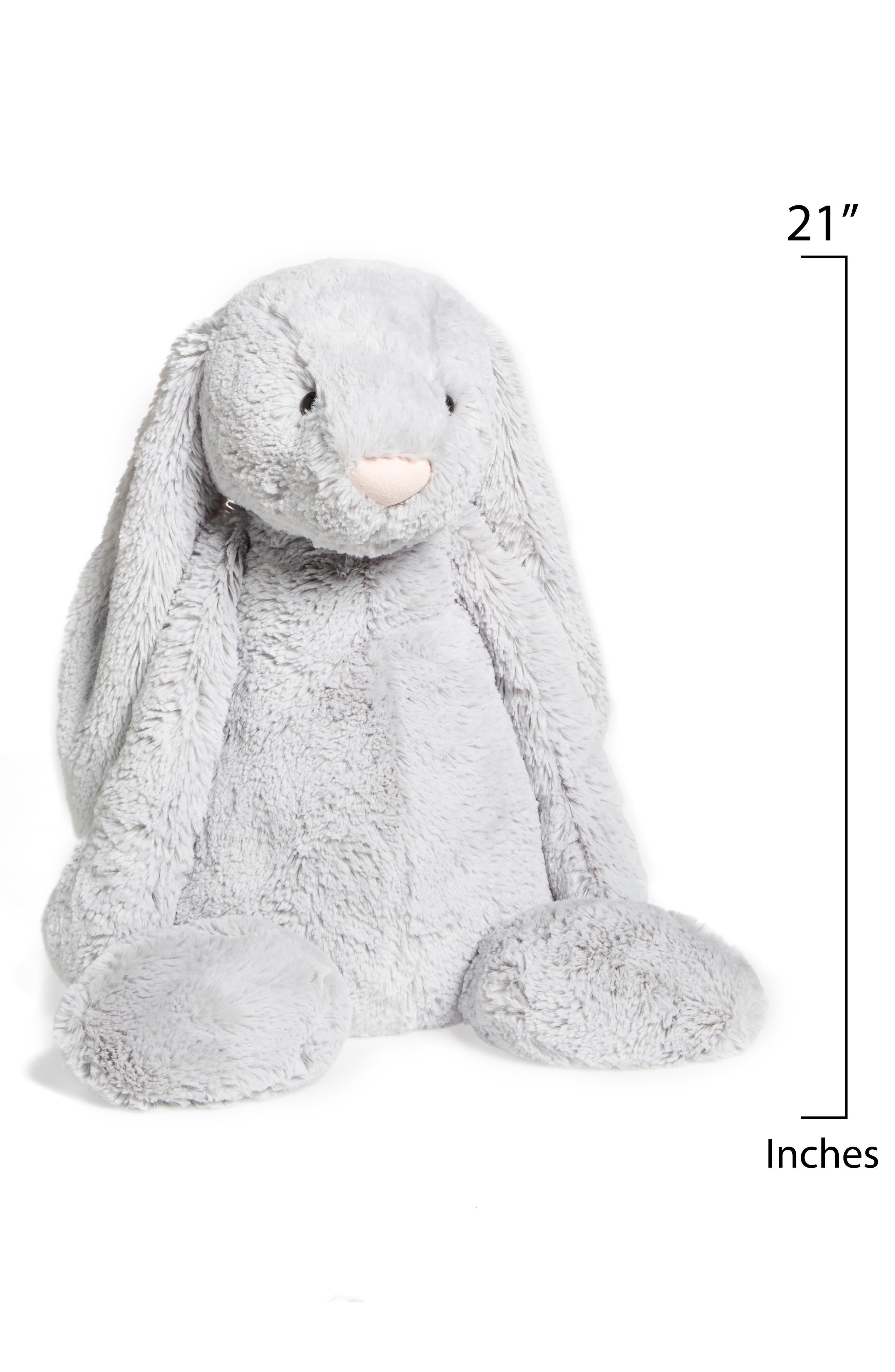 Bunny Stuffed Animal,                             Alternate thumbnail 2, color,                             Grey