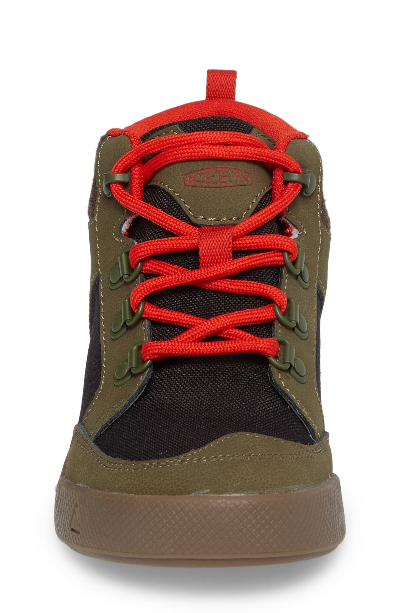 Encanto Wesley II High Top Sneaker,                             Alternate thumbnail 4, color,                             Dark Olive