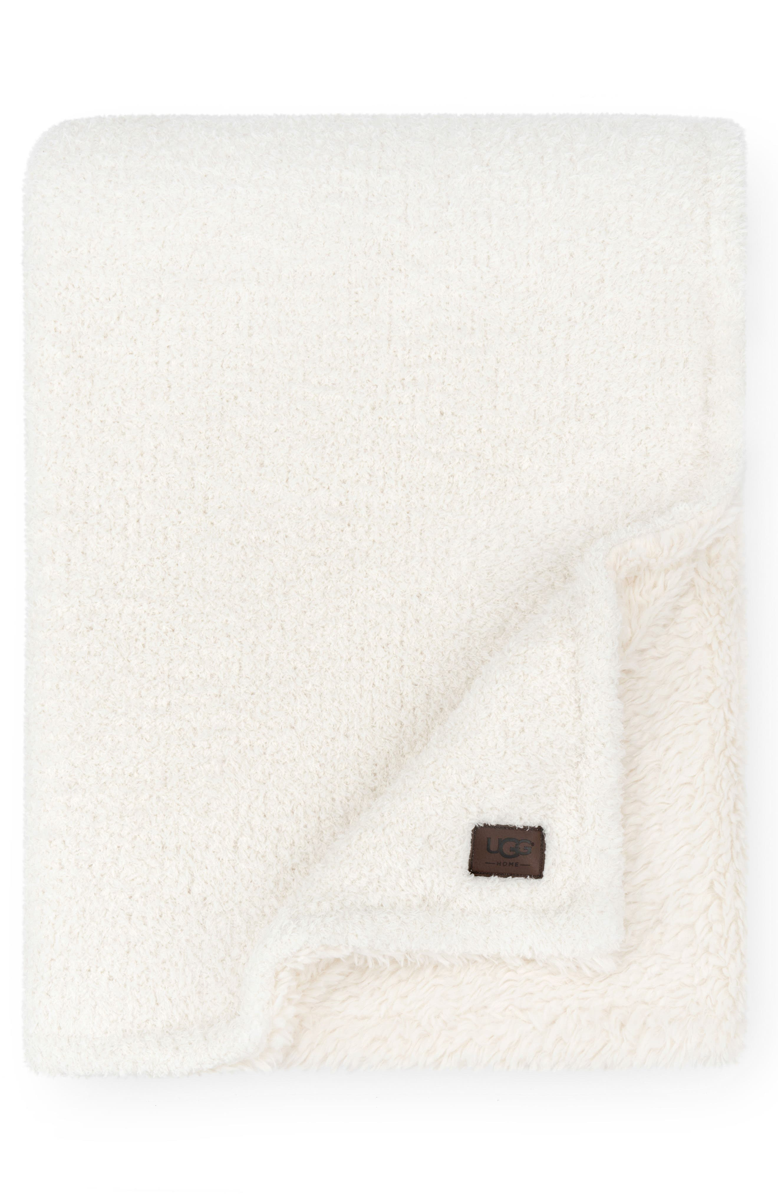 Alternate Image 1 Selected - UGG® Ana Faux Shearling Throw