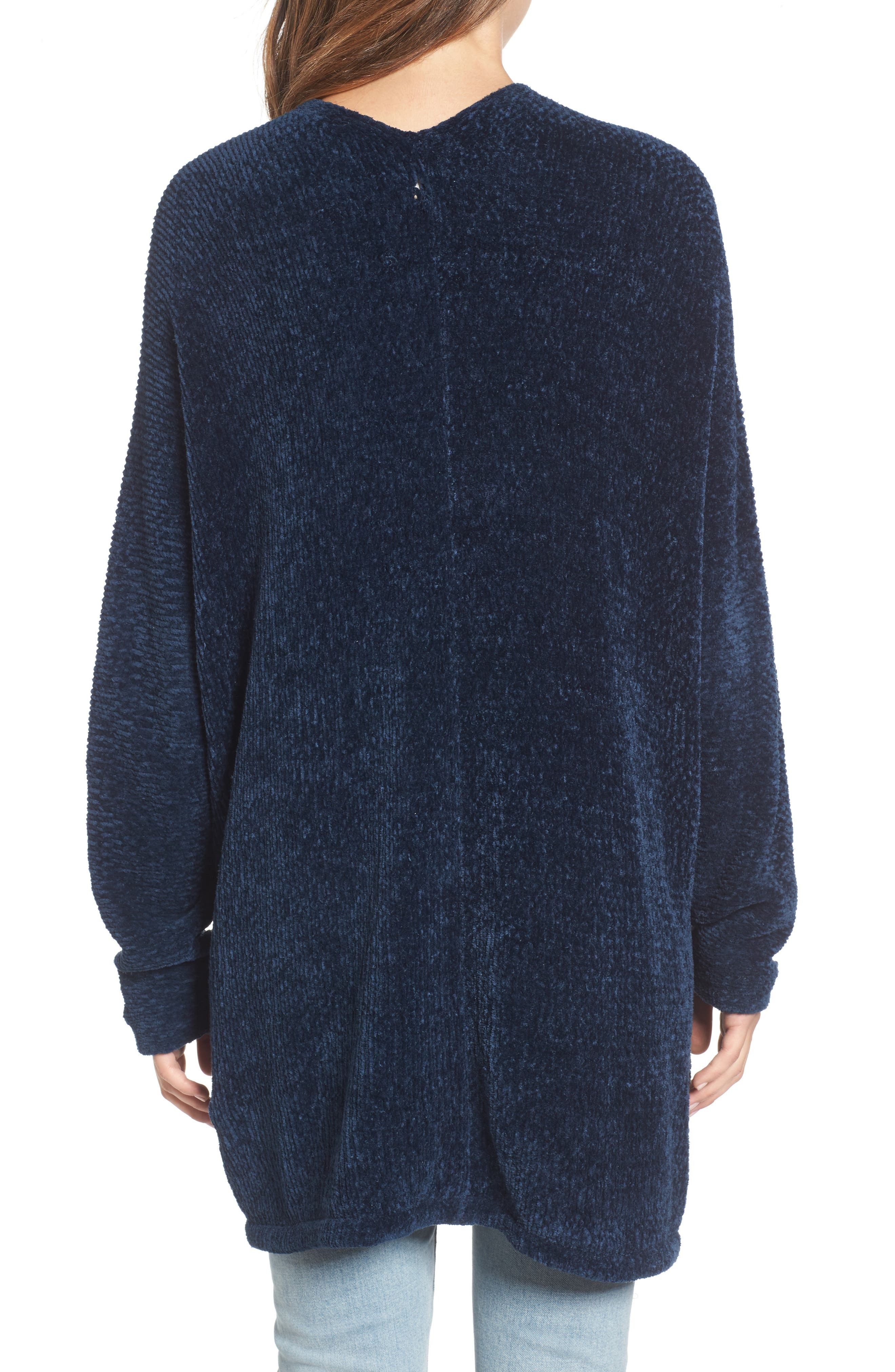 Alternate Image 2  - Lost + Wander Maya Chenille Long Cardigan