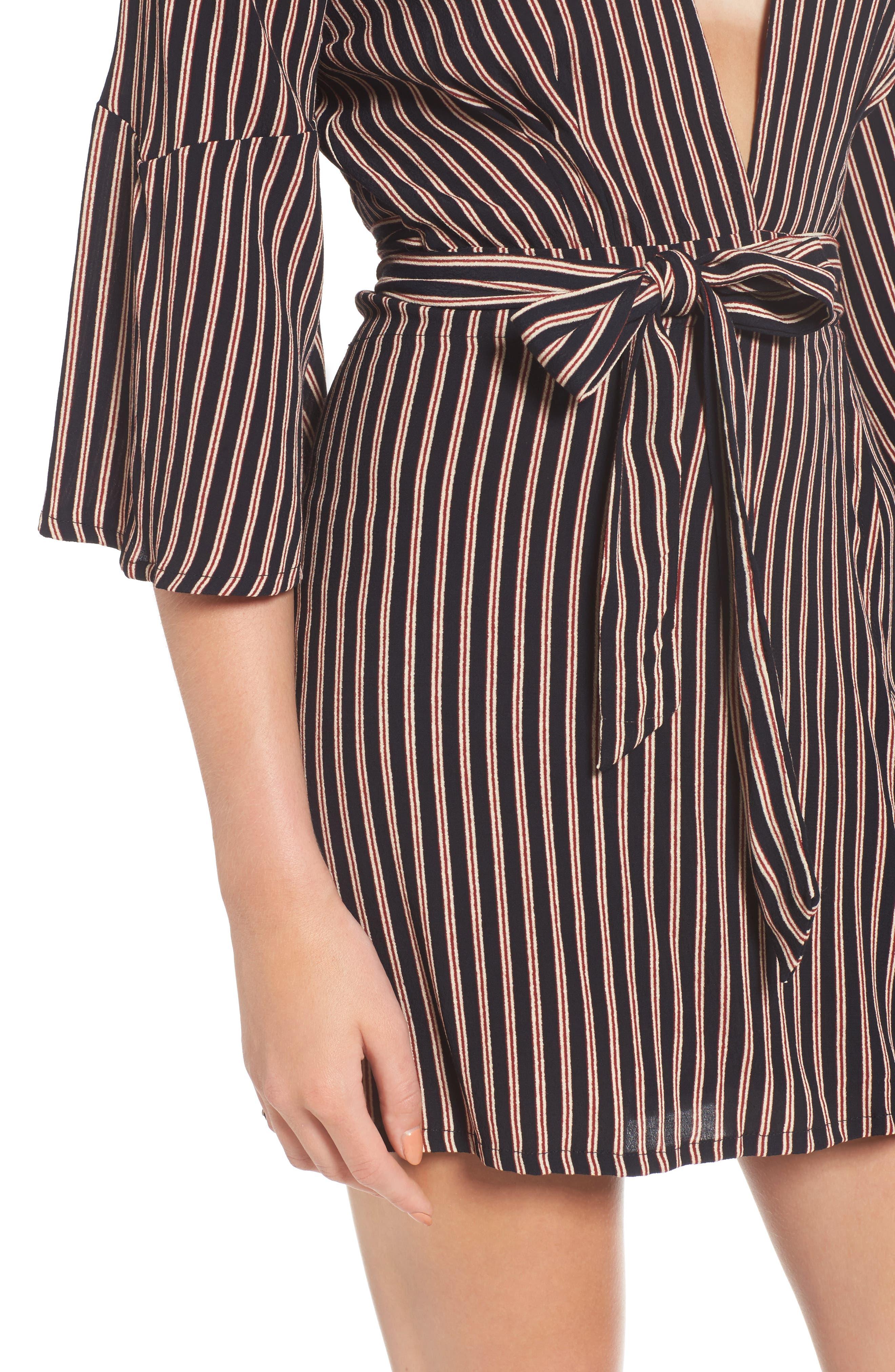 Alternate Image 5  - FAITHFULL THE BRAND Corelli Plunge Wrap Dress