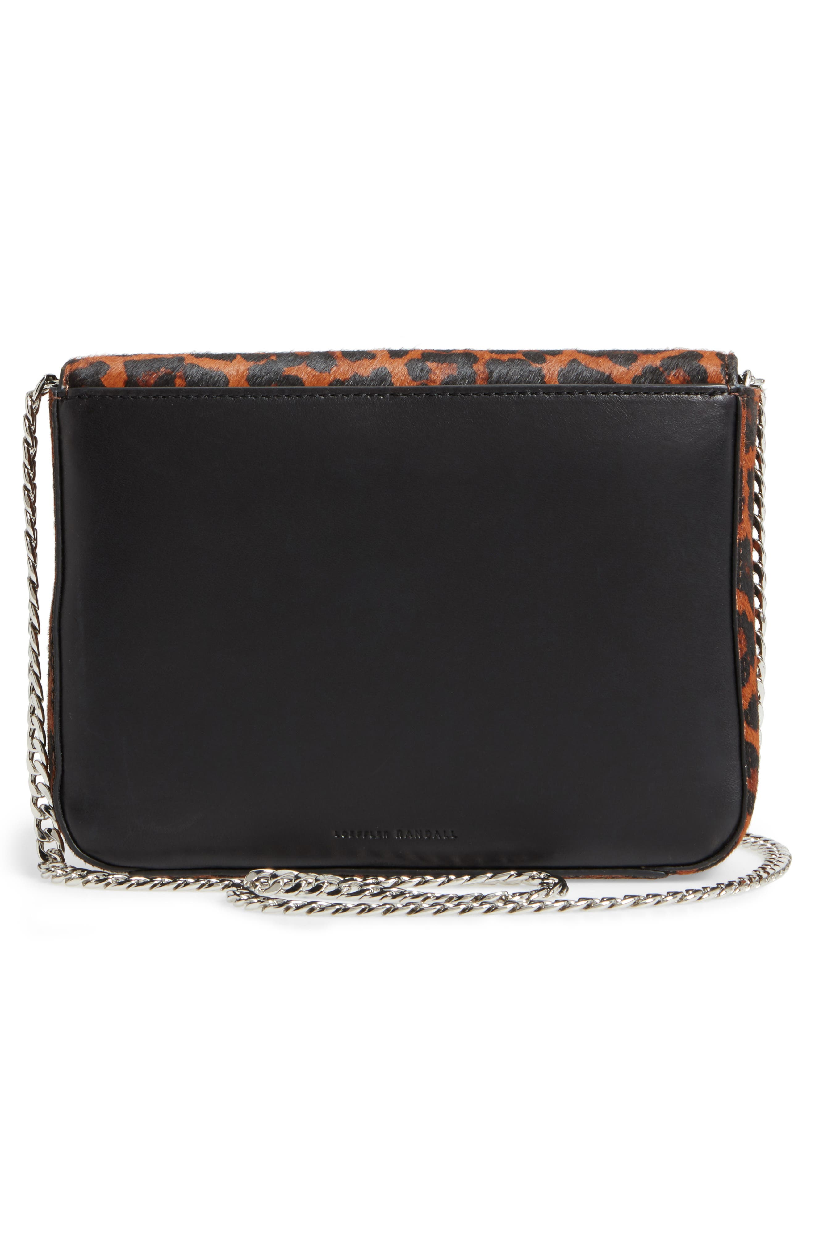 Alternate Image 3  - Loeffler Randall Lock Genuine Calf Hair Shoulder Bag