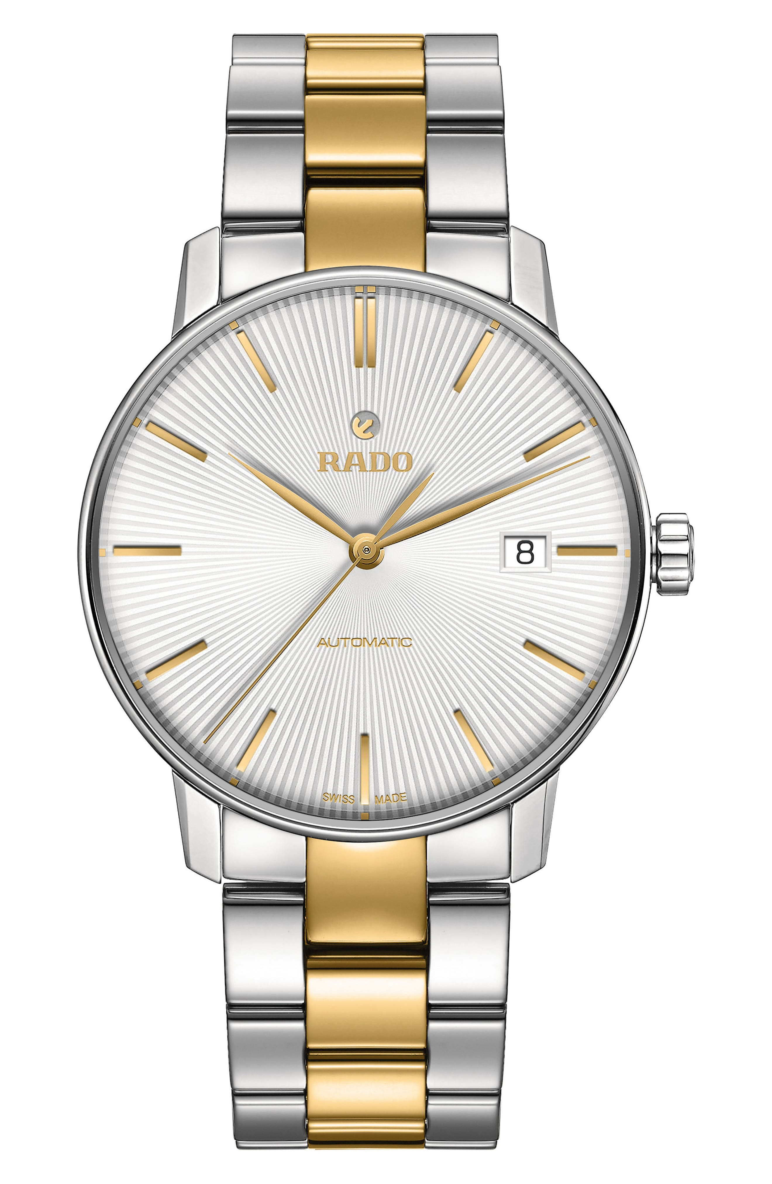 RADO Coupole Classic Automatic Bracelet Watch, 37.7mm