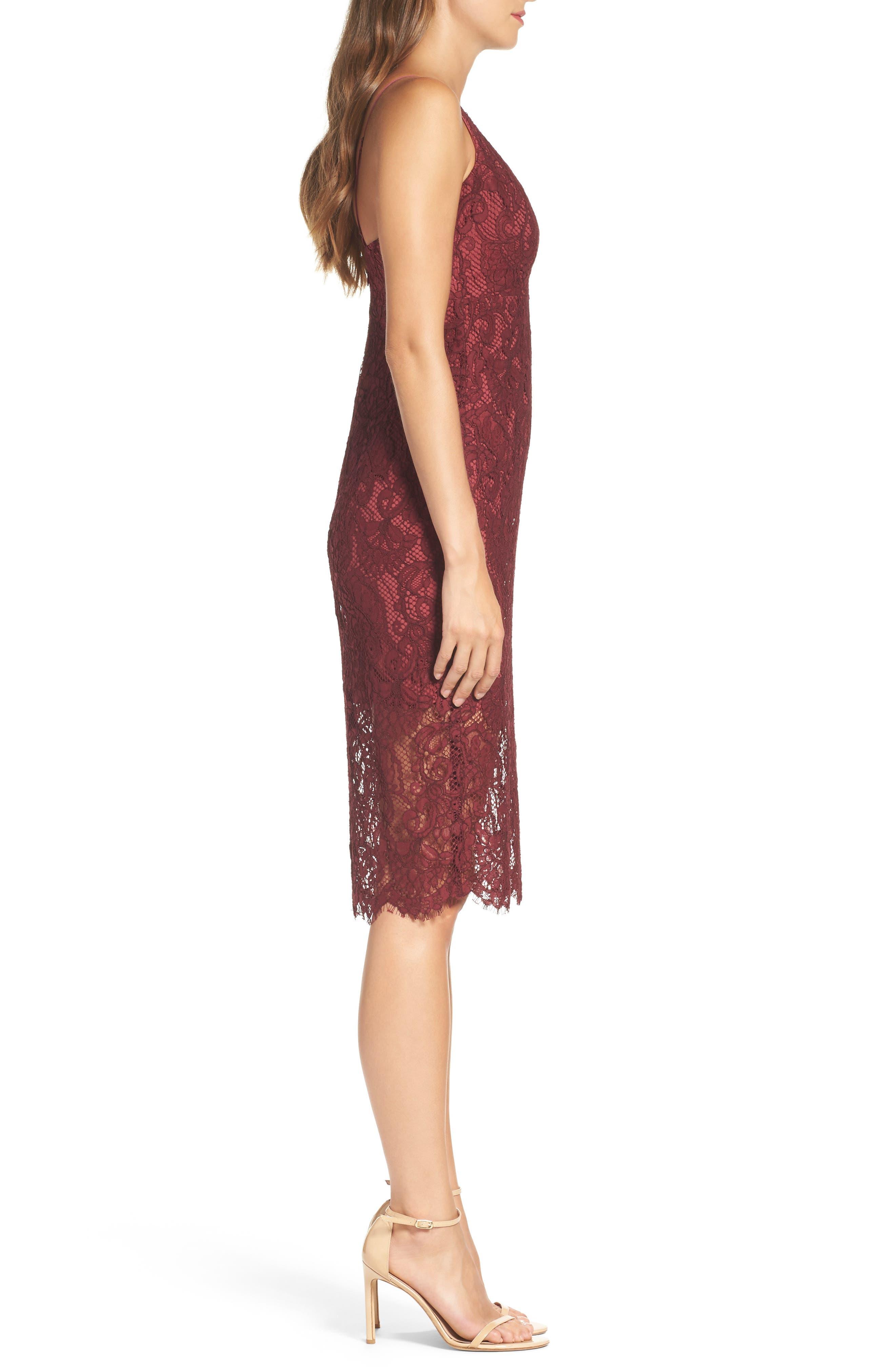 Alternate Image 3  - Bardot Lace Pencil Dress