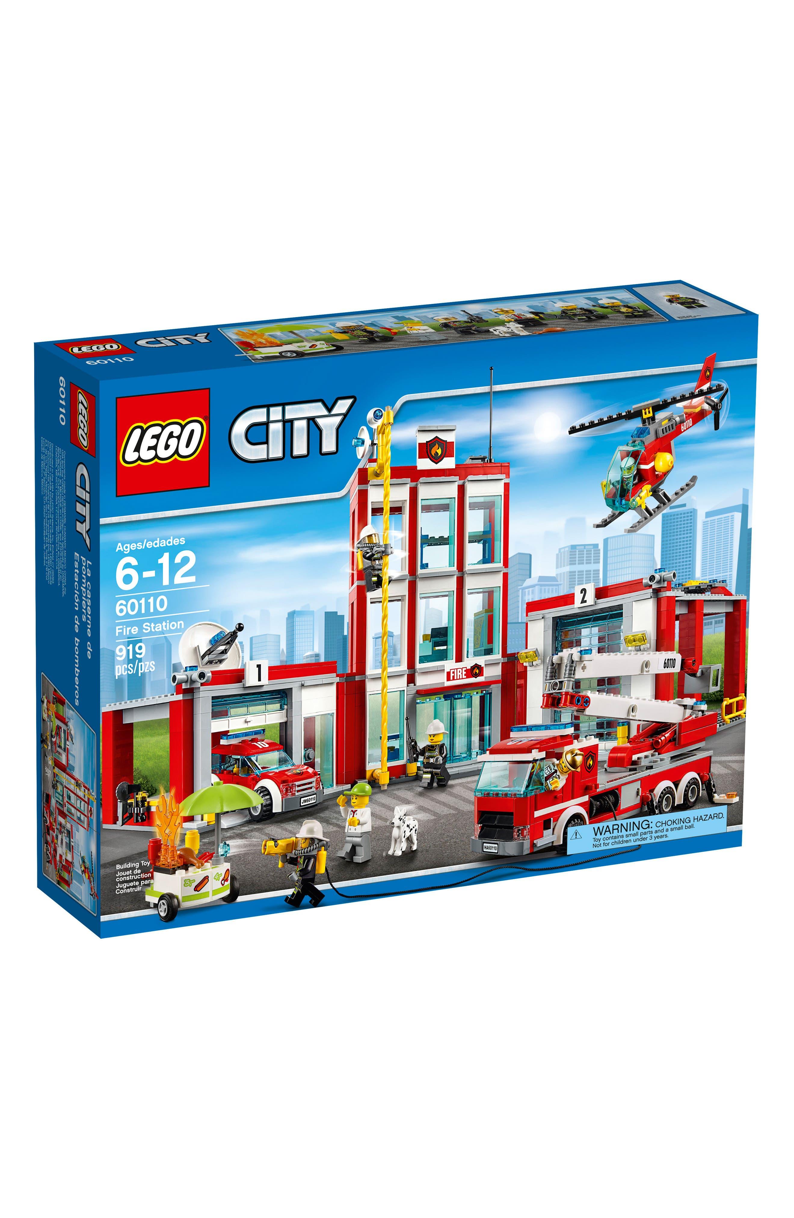 LEGO® City Fire Station Play Set - 60110