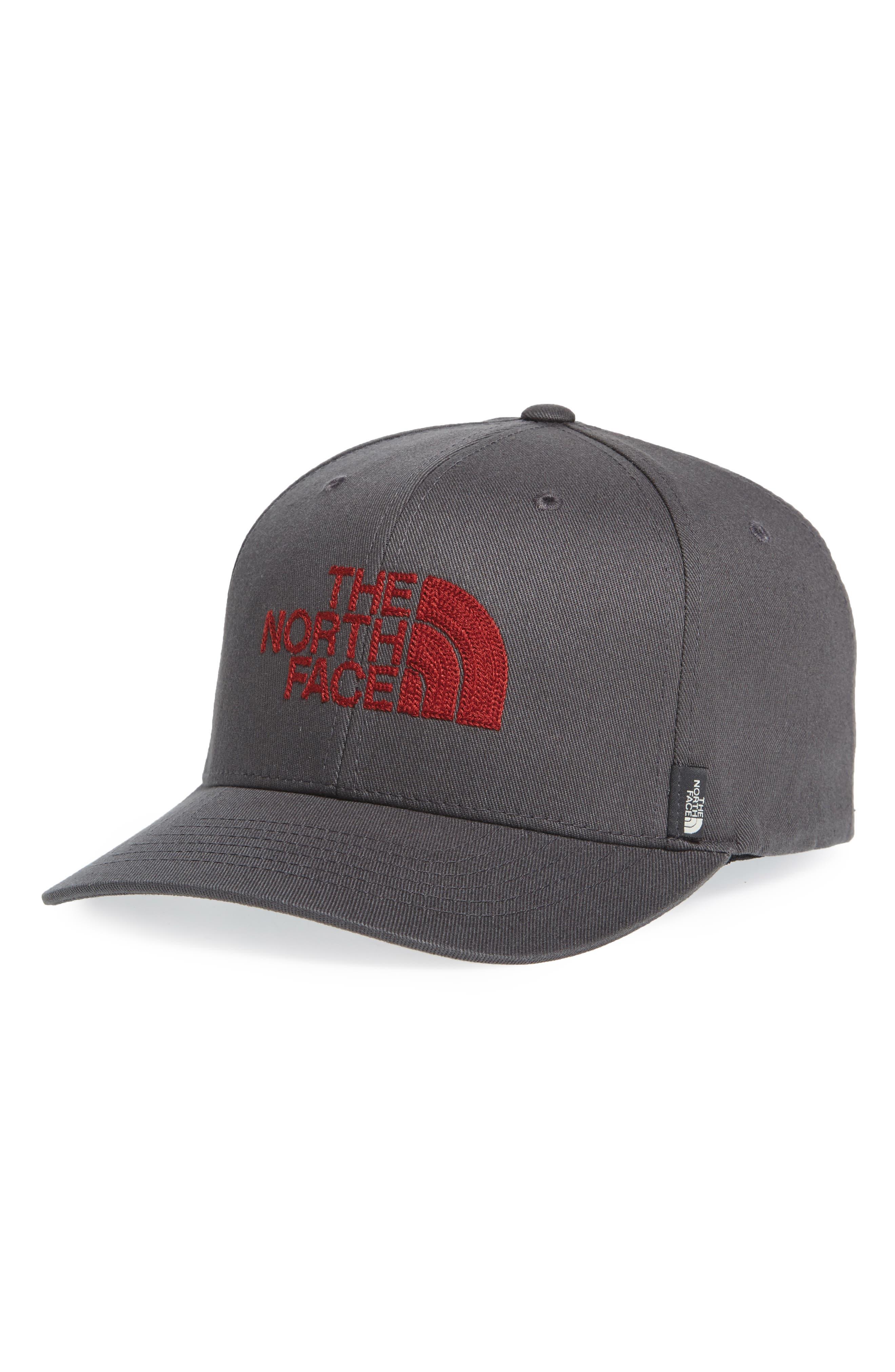 Never Stop Exploring Baseball Cap,                         Main,                         color, Asphalt Grey