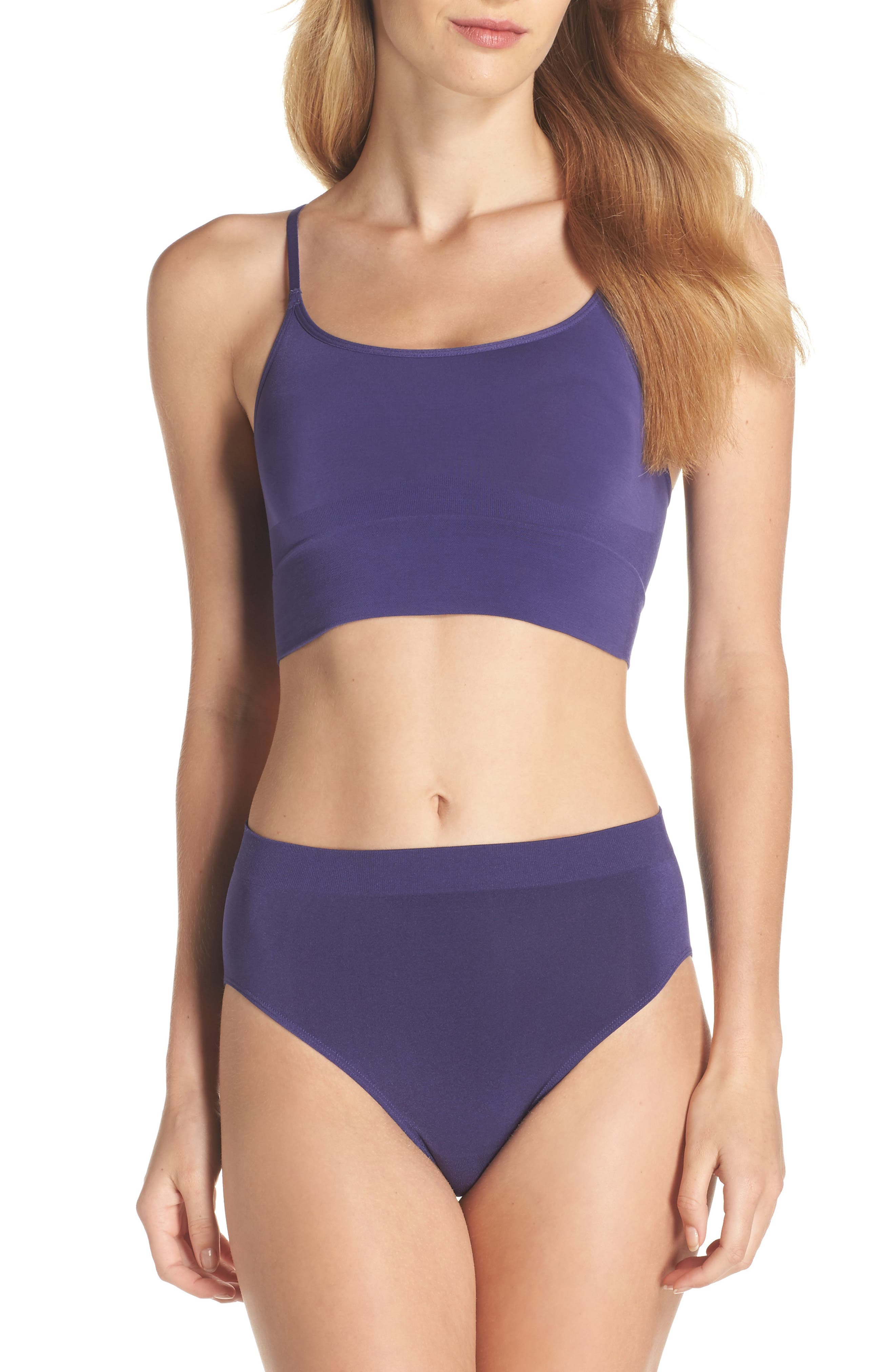 Alternate Image 5  - Wacoal B Smooth High Cut Briefs (3 for $39)