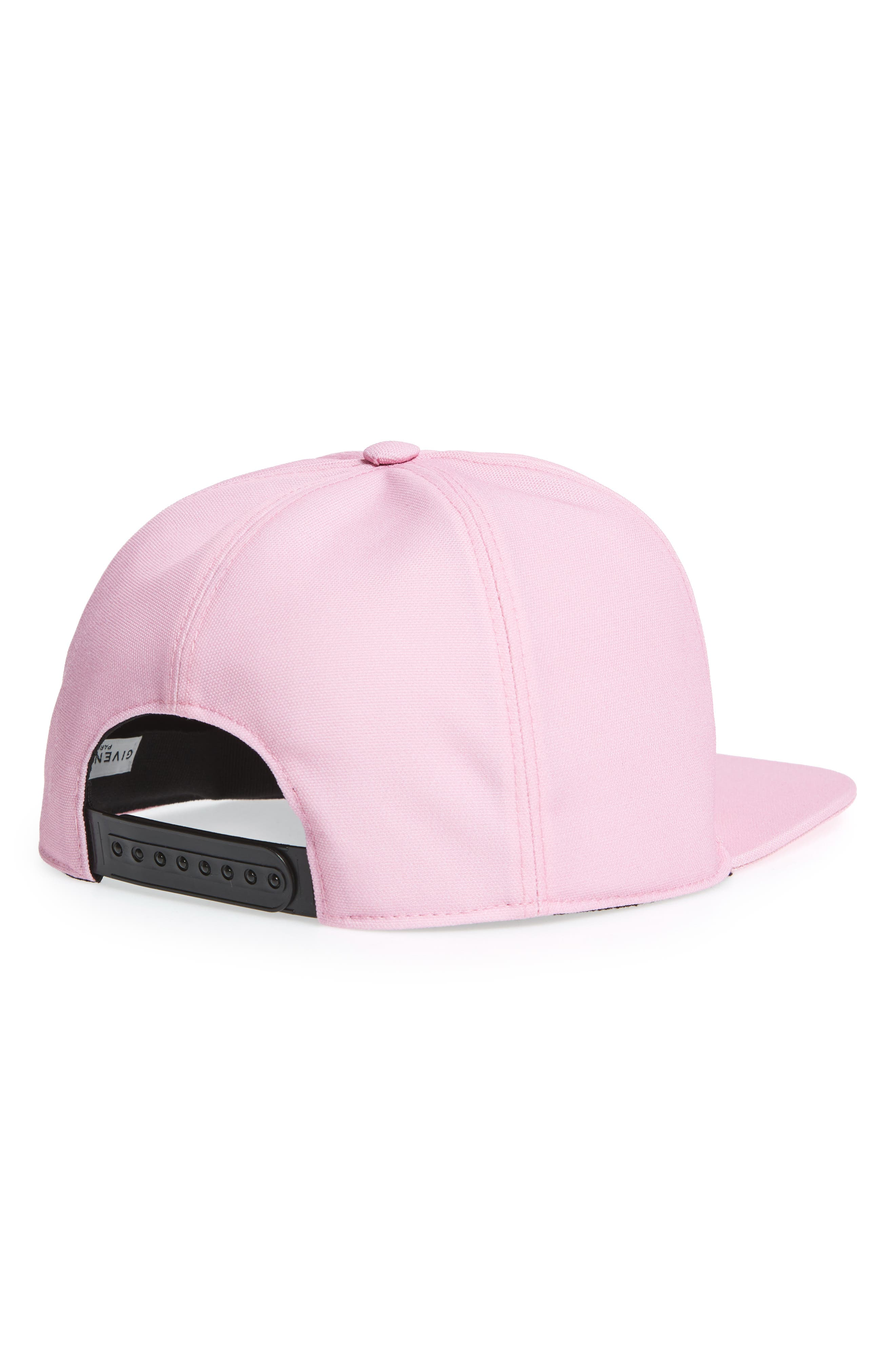 Alternate Image 2  - Givenchy Paris Embroidered Canvas Snapback Cap
