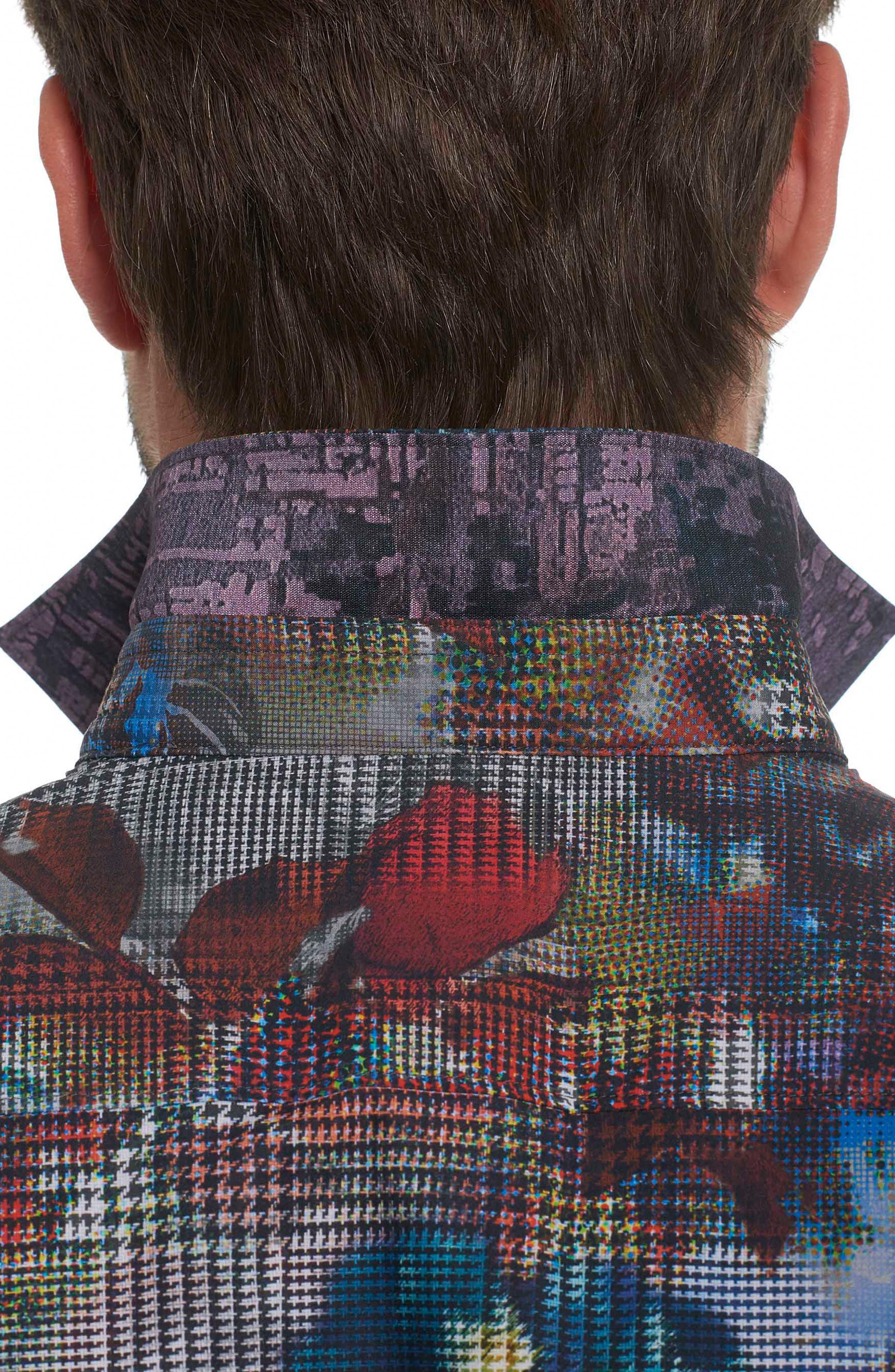 Alternate Image 4  - Robert Graham Big Nova Classic Fit Print Sport Shirt